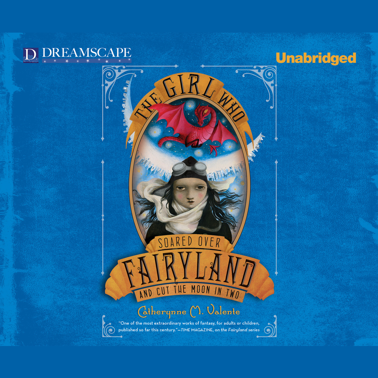 Printable The Girl Who Soared Over Fairyland and Cut the Moon in Two Audiobook Cover Art