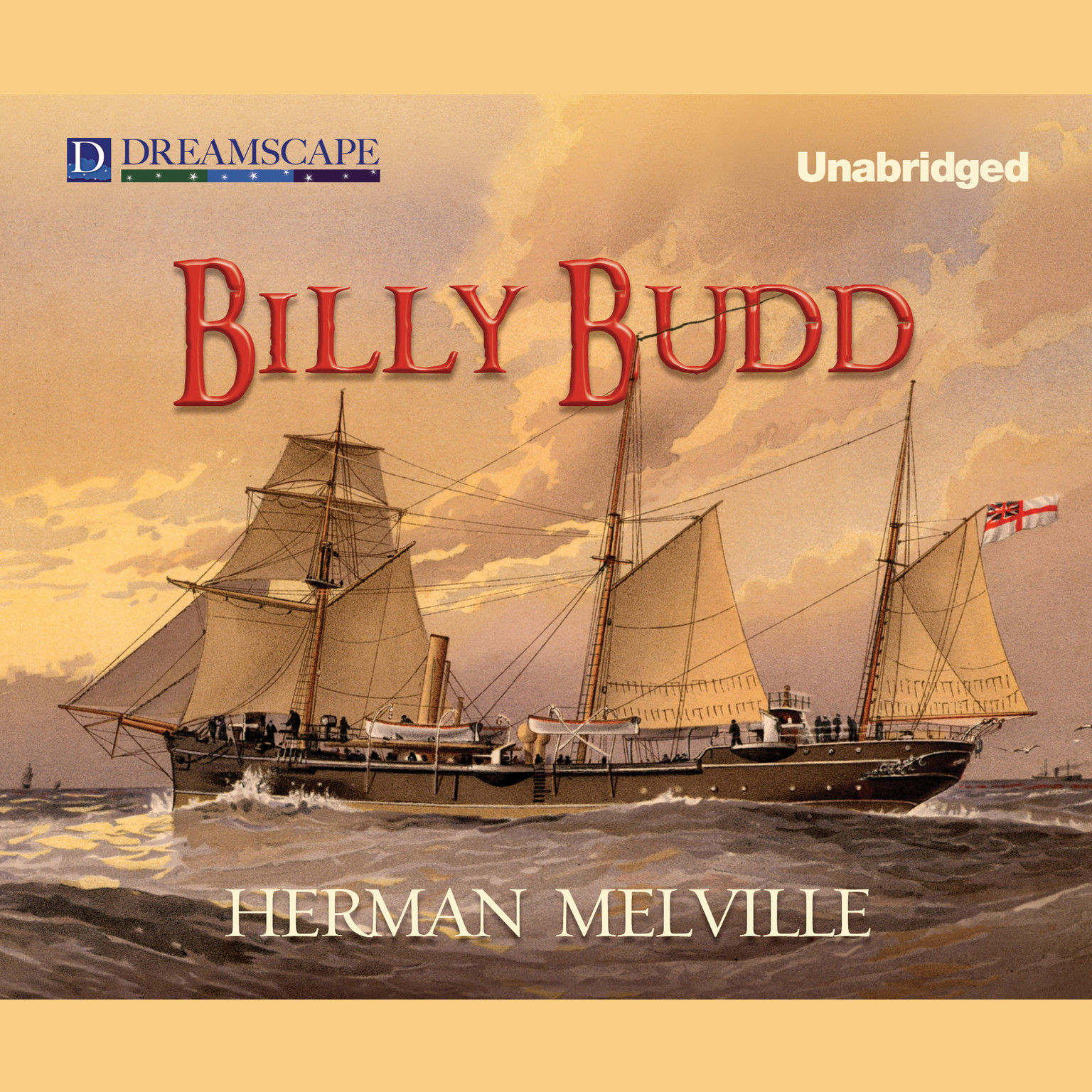 Printable Billy Budd Audiobook Cover Art