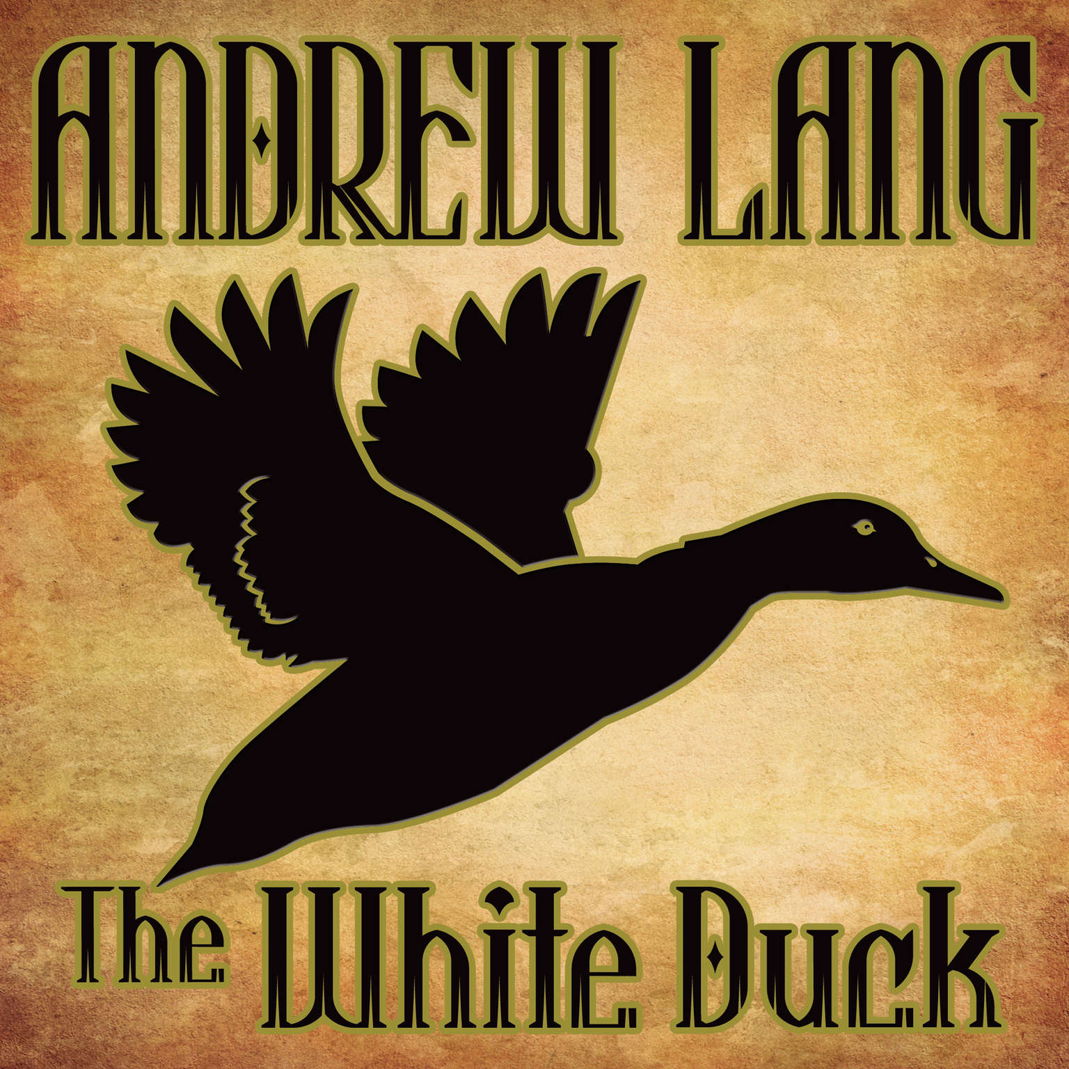 Printable The White Duck: N/A Audiobook Cover Art