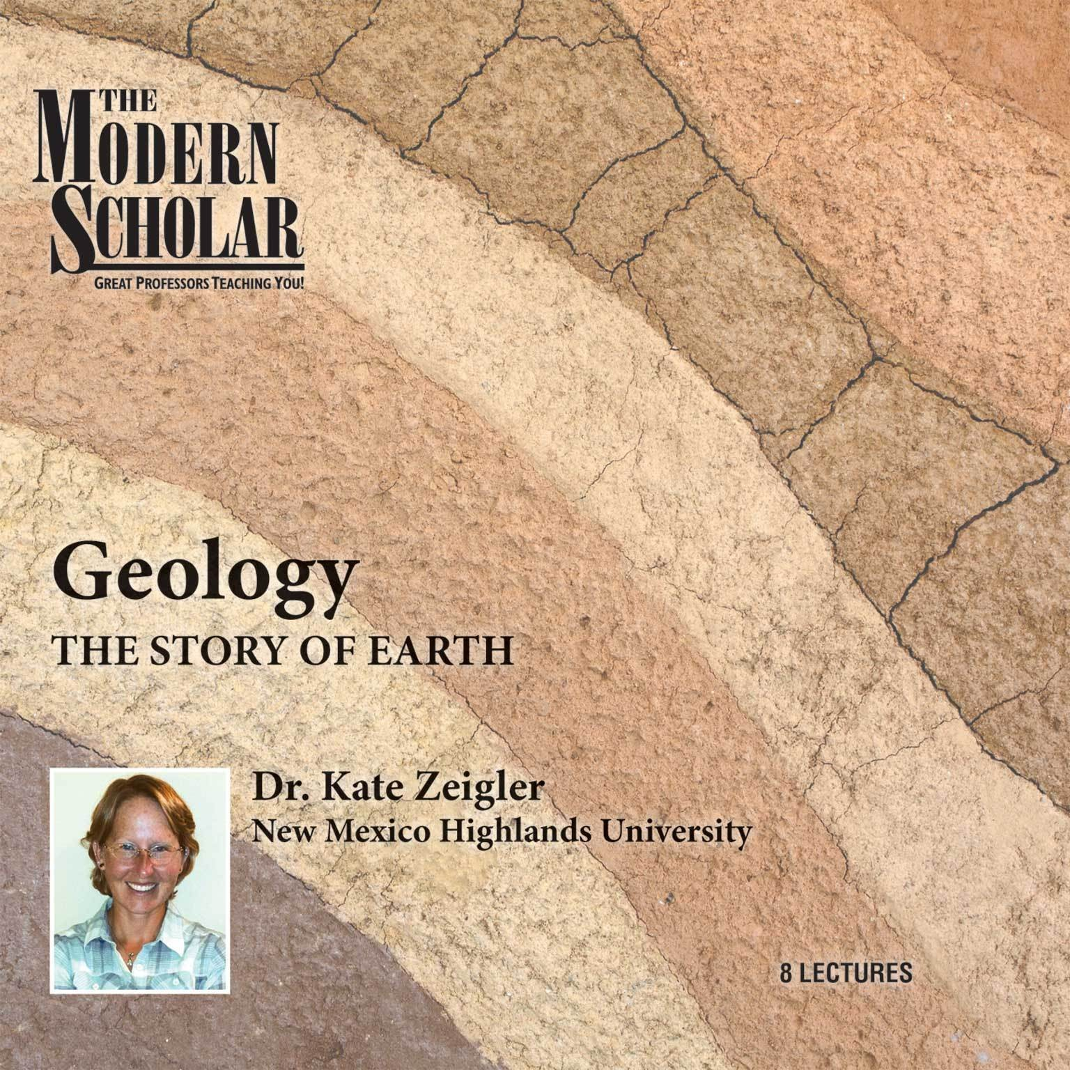 Printable Geology: The Story of Earth Audiobook Cover Art