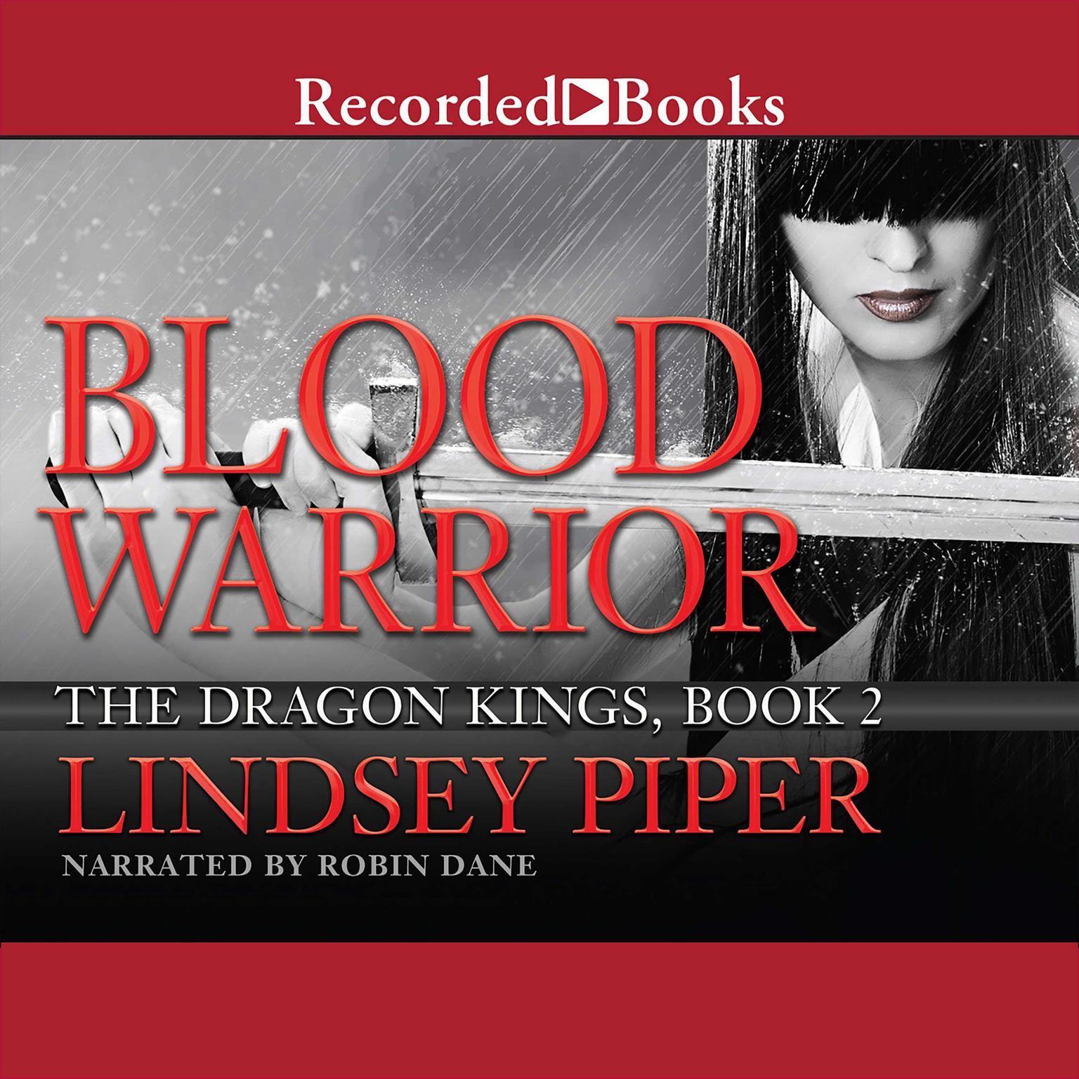 Printable Blood Warrior Audiobook Cover Art