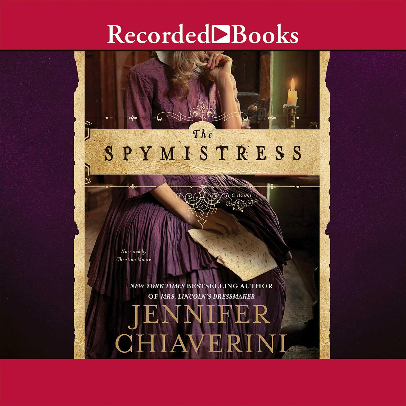Printable The Spymistress Audiobook Cover Art