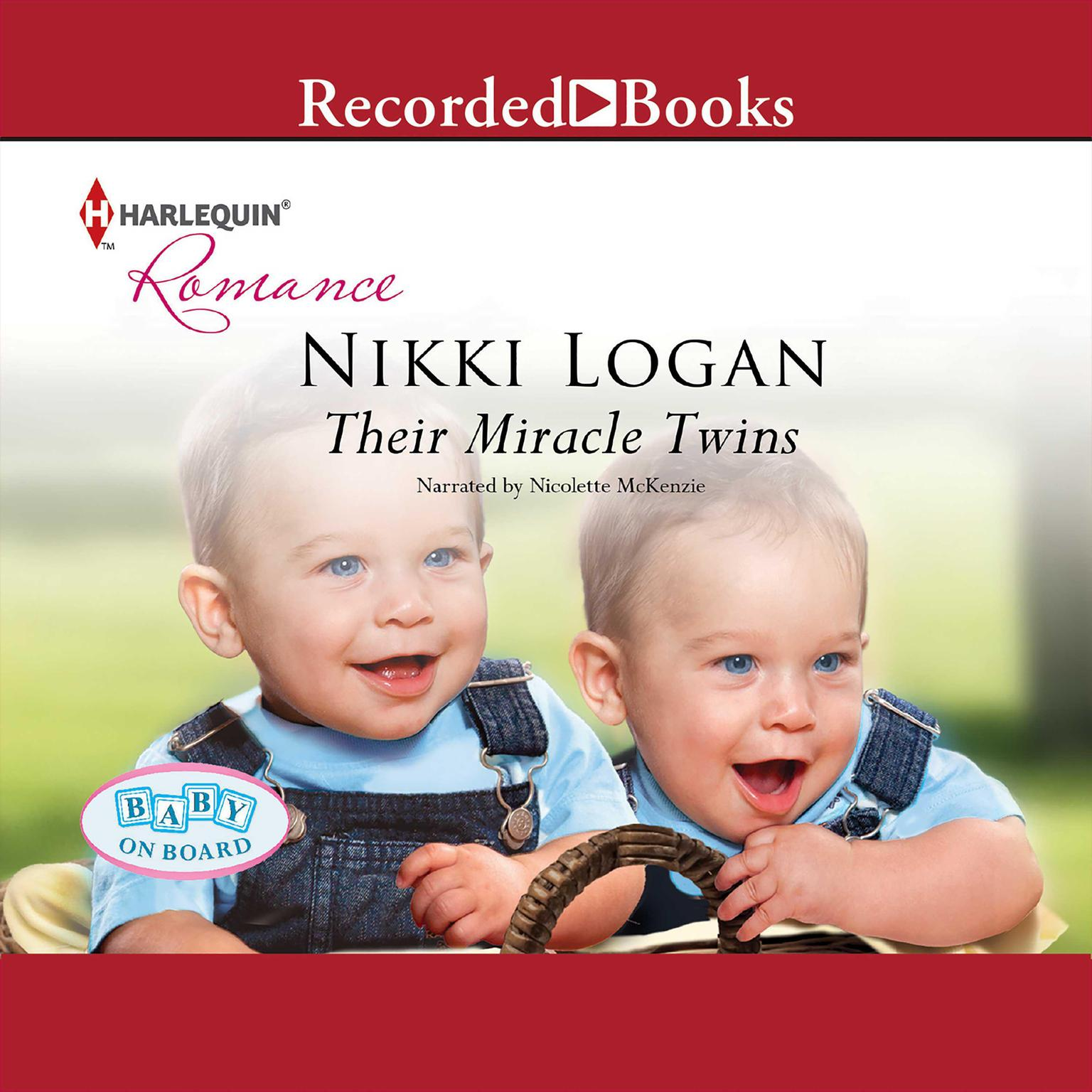 Printable Their Miracle Twins Audiobook Cover Art