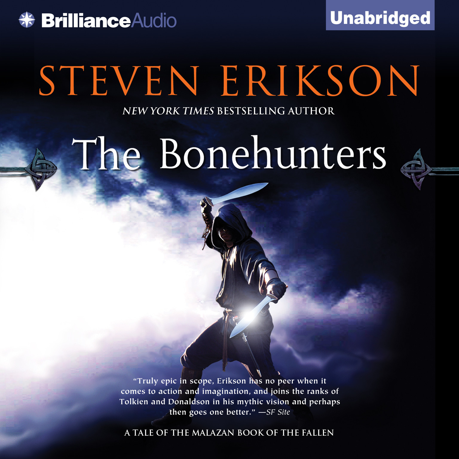 Printable The Bonehunters: Book Six of the Malazan Book of the Fallen Audiobook Cover Art
