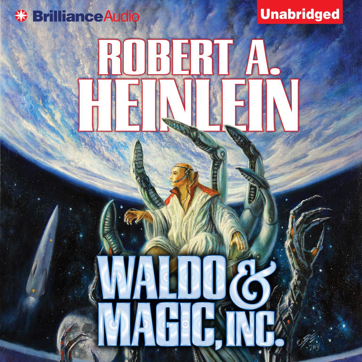 Printable Waldo & Magic, Inc. Audiobook Cover Art