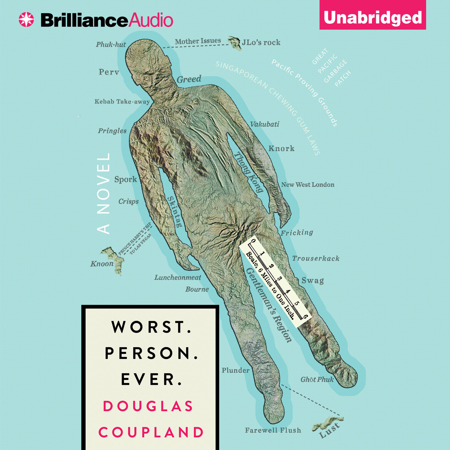 Printable Worst. Person. Ever. Audiobook Cover Art