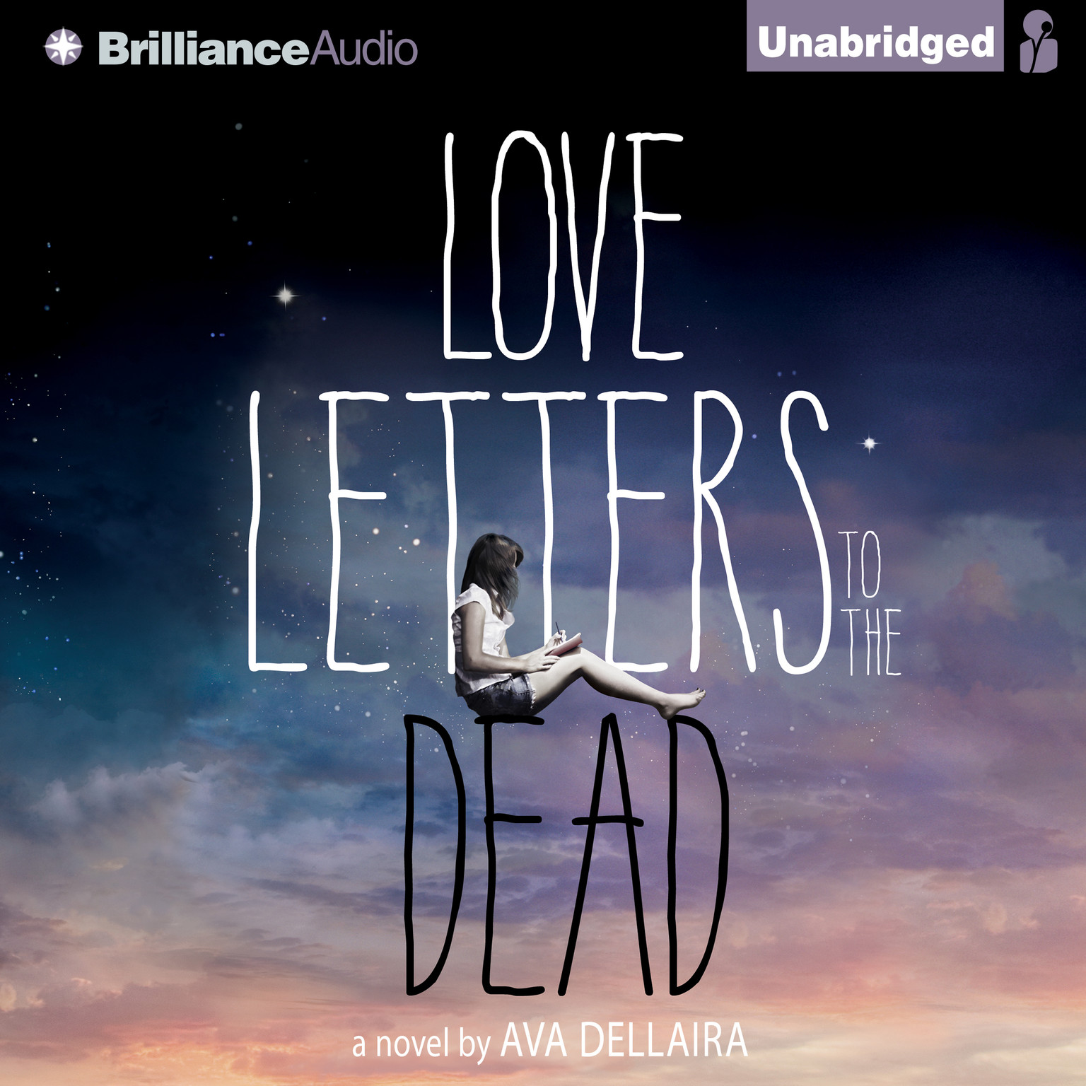 Printable Love Letters to the Dead Audiobook Cover Art