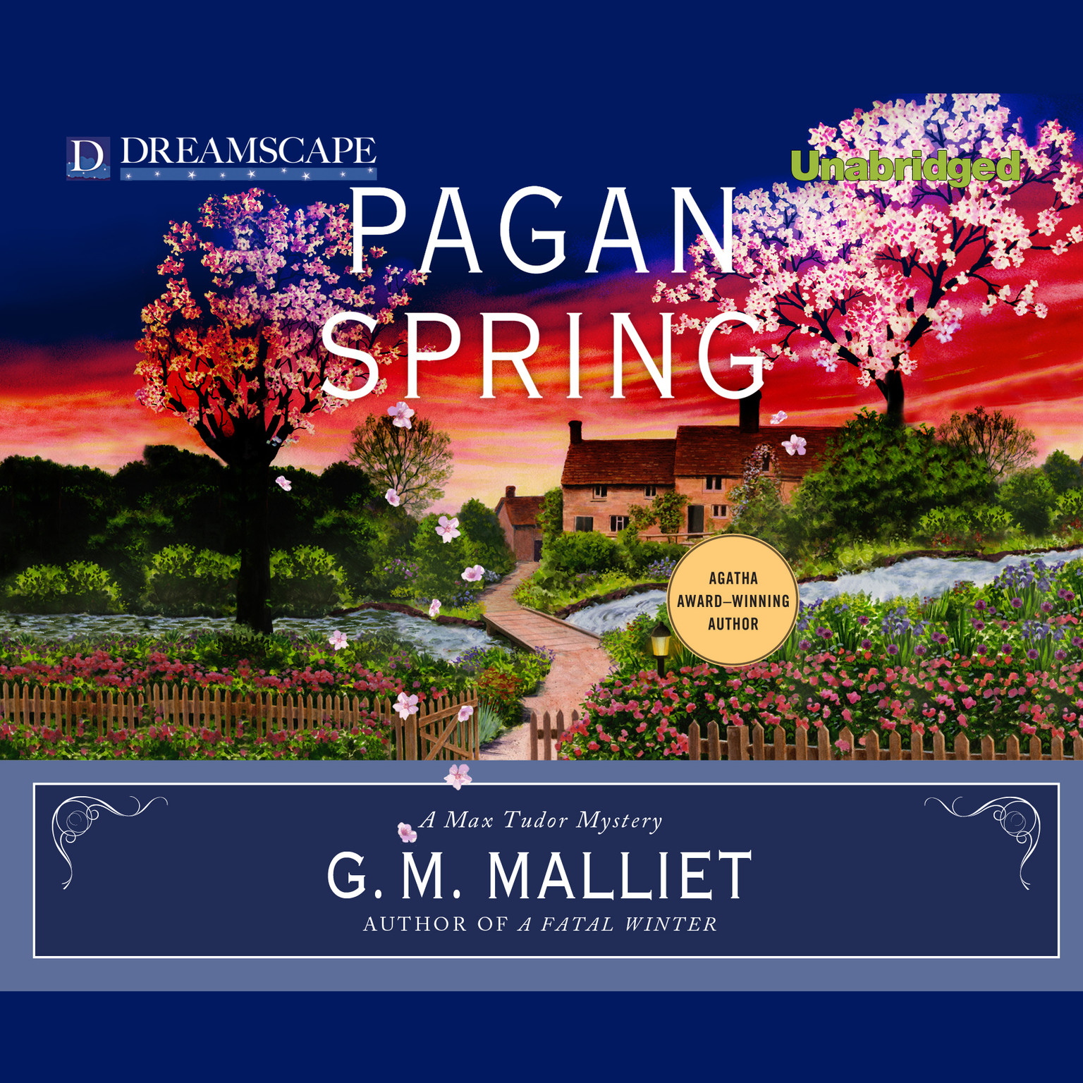 Printable Pagan Spring: A Max Tudor Mystery Audiobook Cover Art