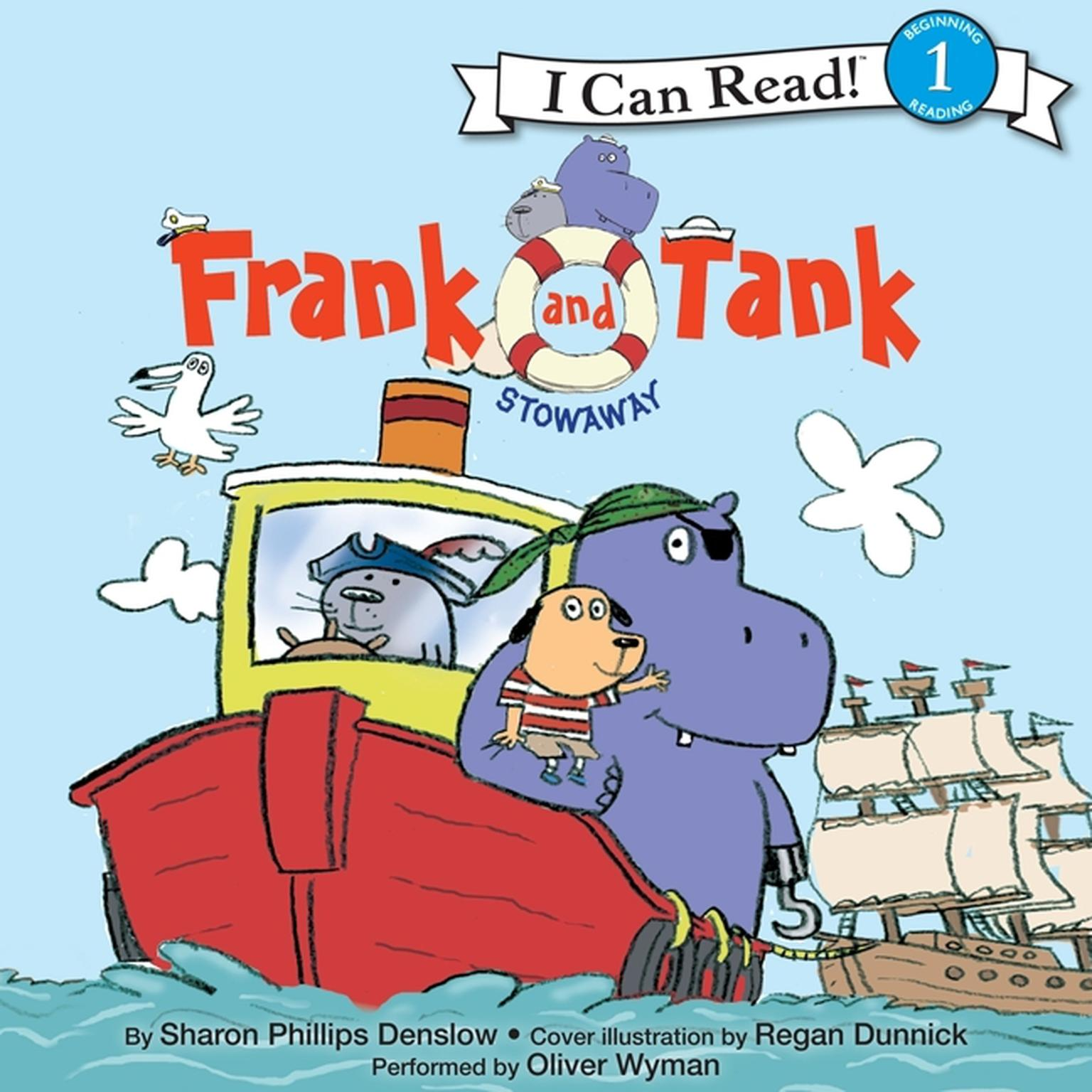 Printable Frank and Tank: Stowaway Audiobook Cover Art