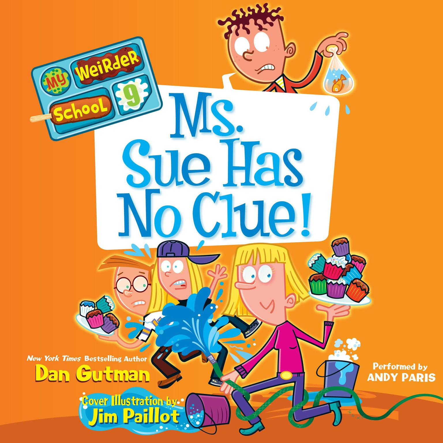 Printable Ms. Sue Has No Clue! Audiobook Cover Art