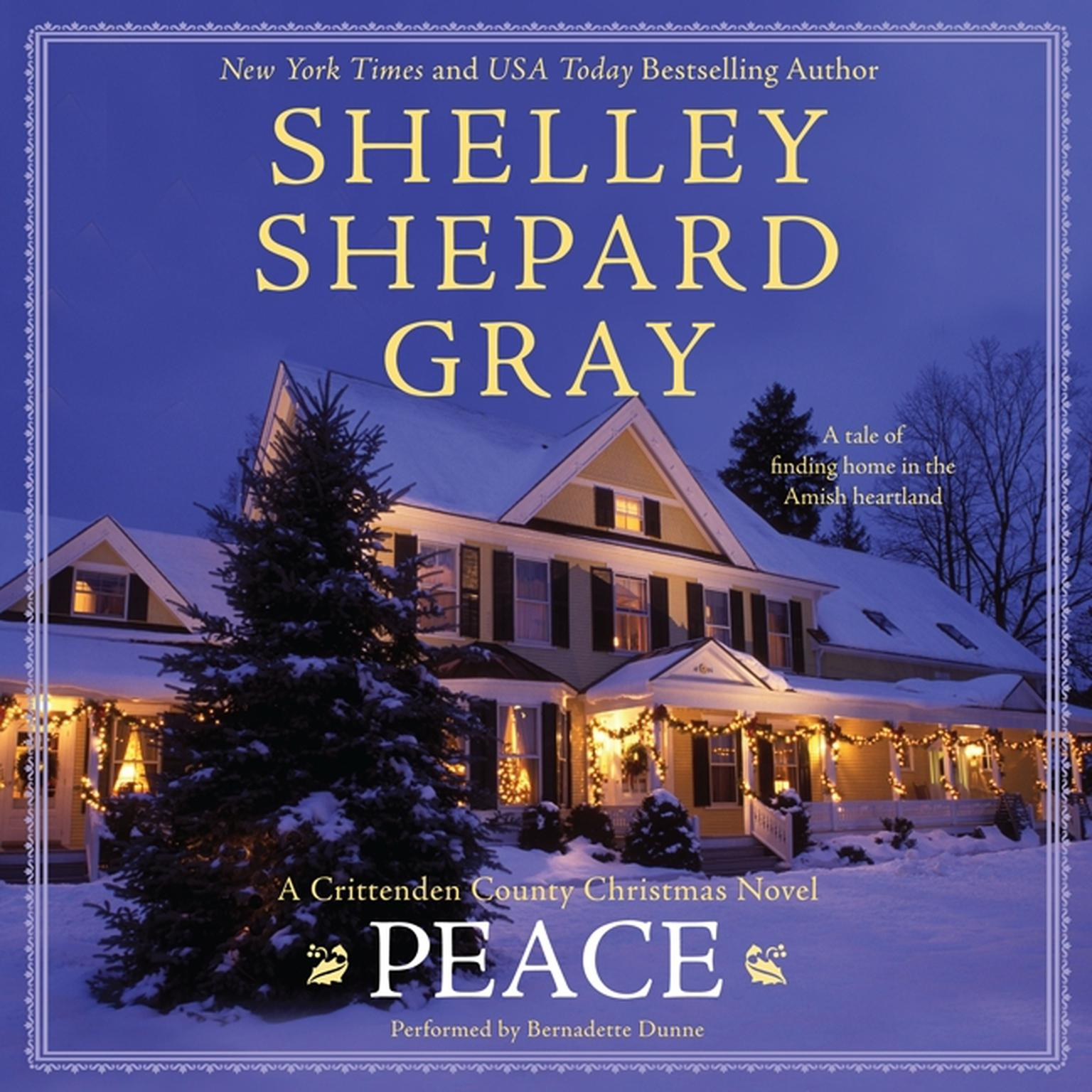 Printable Peace: A Crittenden County Christmas Novel Audiobook Cover Art