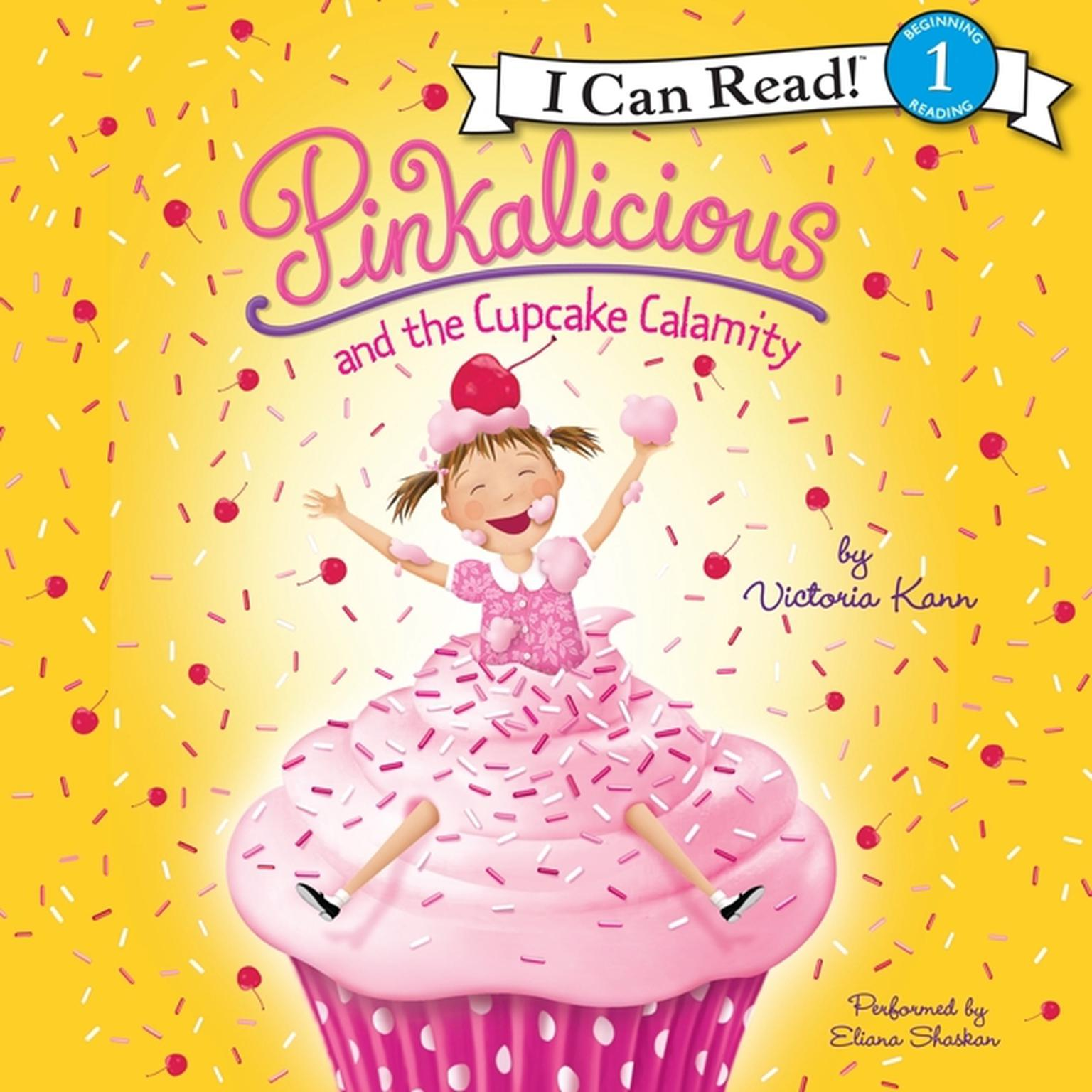 Printable Pinkalicious and the Cupcake Calamity Audiobook Cover Art