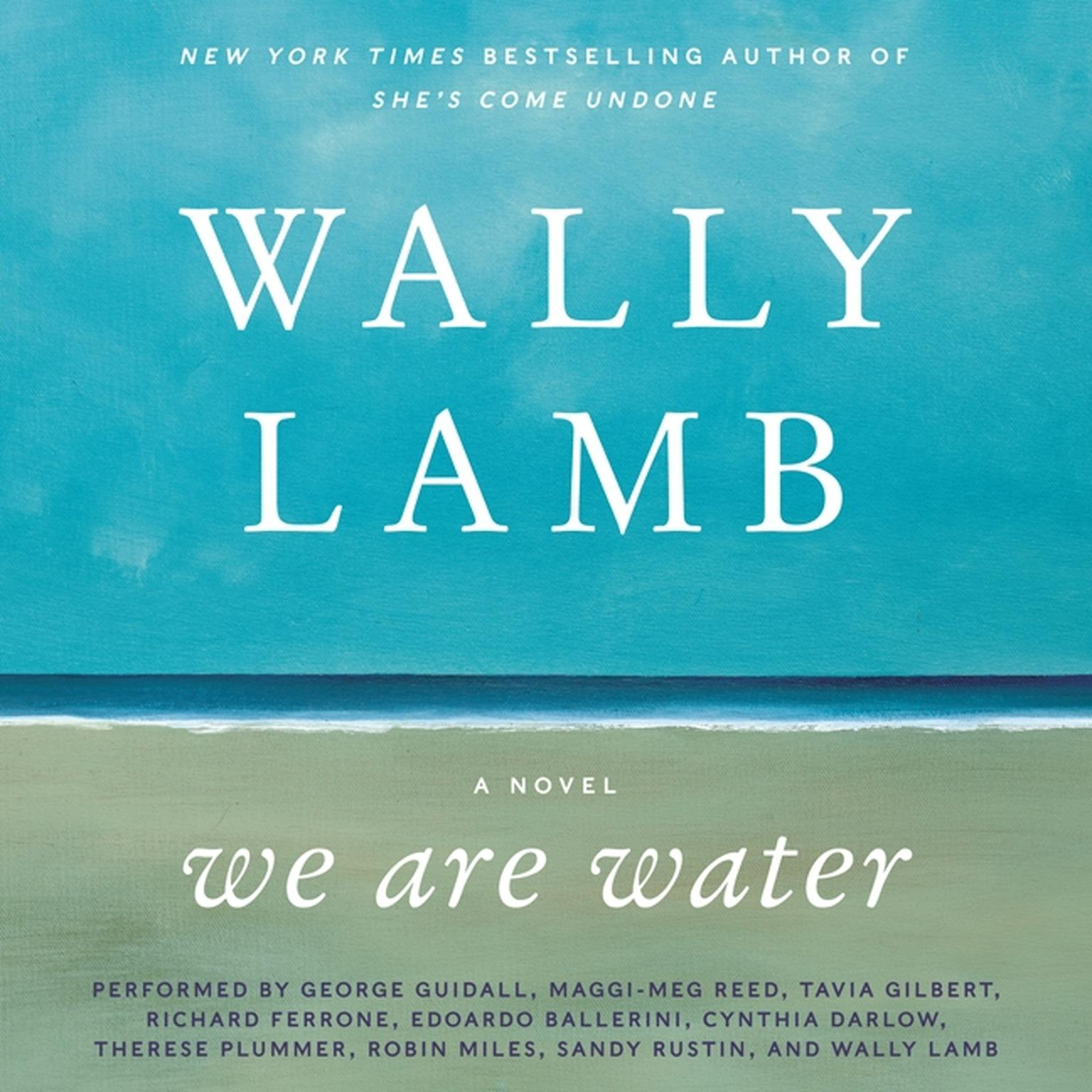 Printable We Are Water: A Novel Audiobook Cover Art