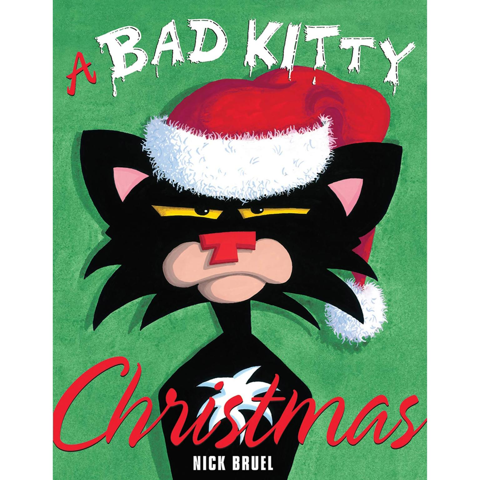 Printable A Bad Kitty Christmas Audiobook Cover Art
