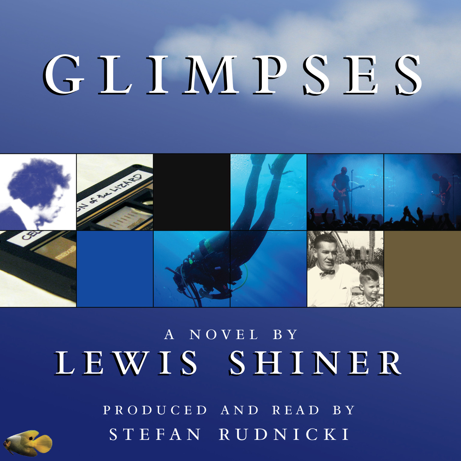 Printable Glimpses: A Novel Audiobook Cover Art
