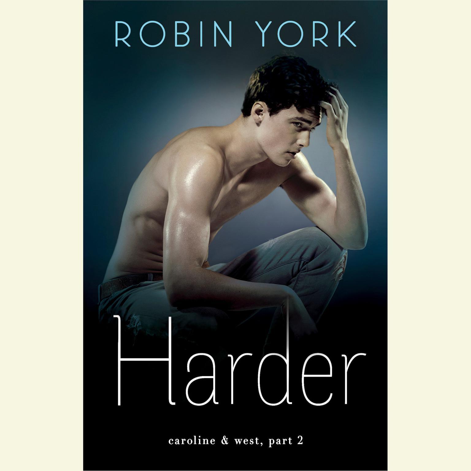 Printable Harder: A Novel Audiobook Cover Art