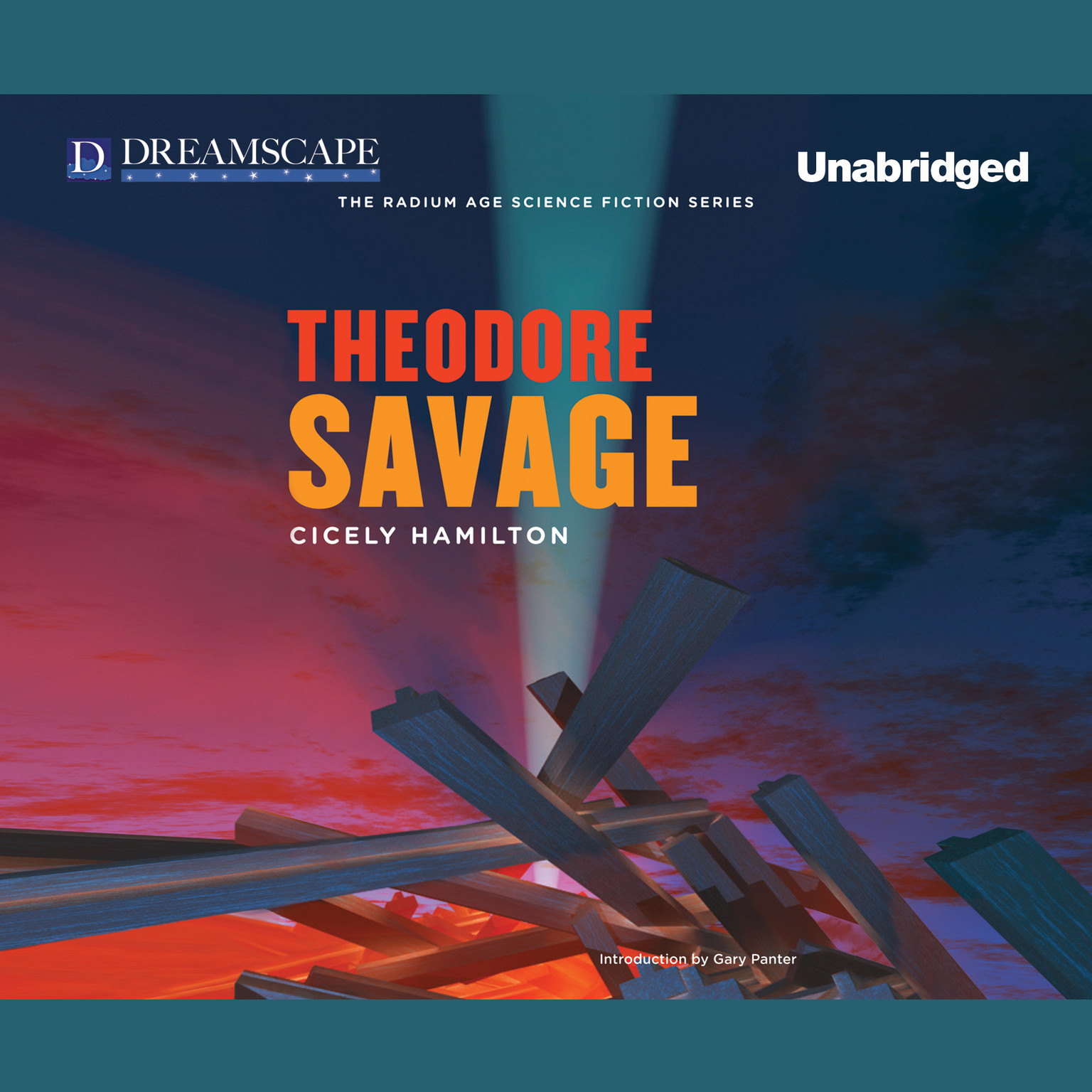 Printable Theodore Savage Audiobook Cover Art