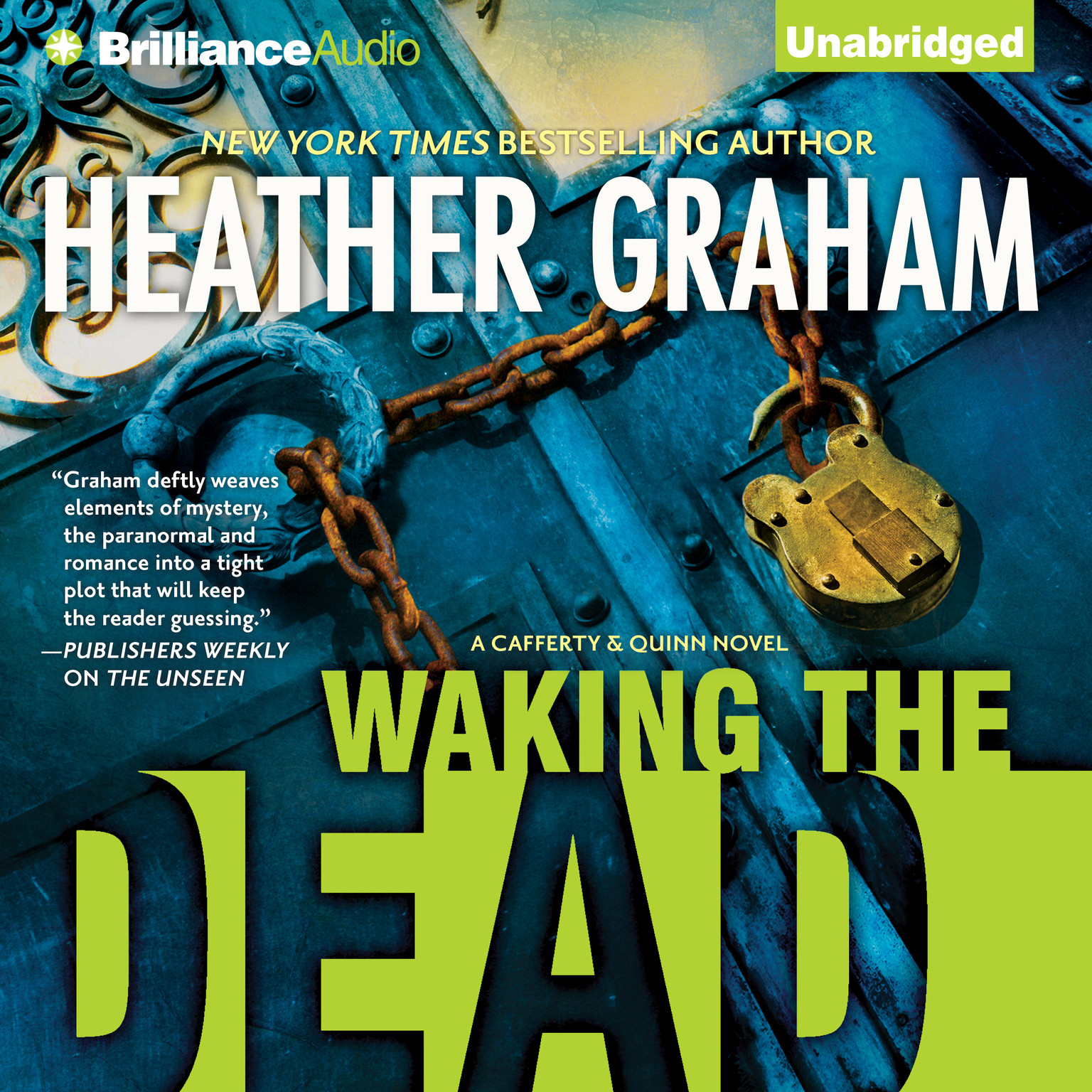 Printable Waking the Dead Audiobook Cover Art