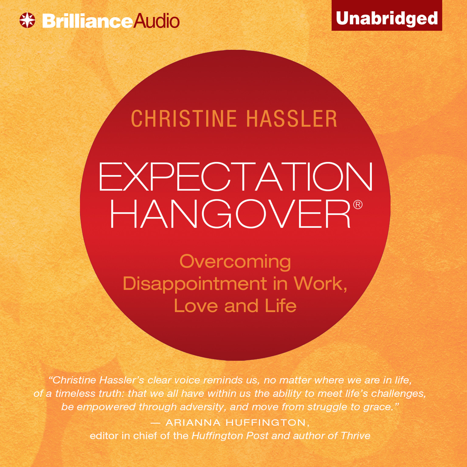 Printable Expectation Hangover: Overcoming Disappointment in Work, Love, and Life Audiobook Cover Art