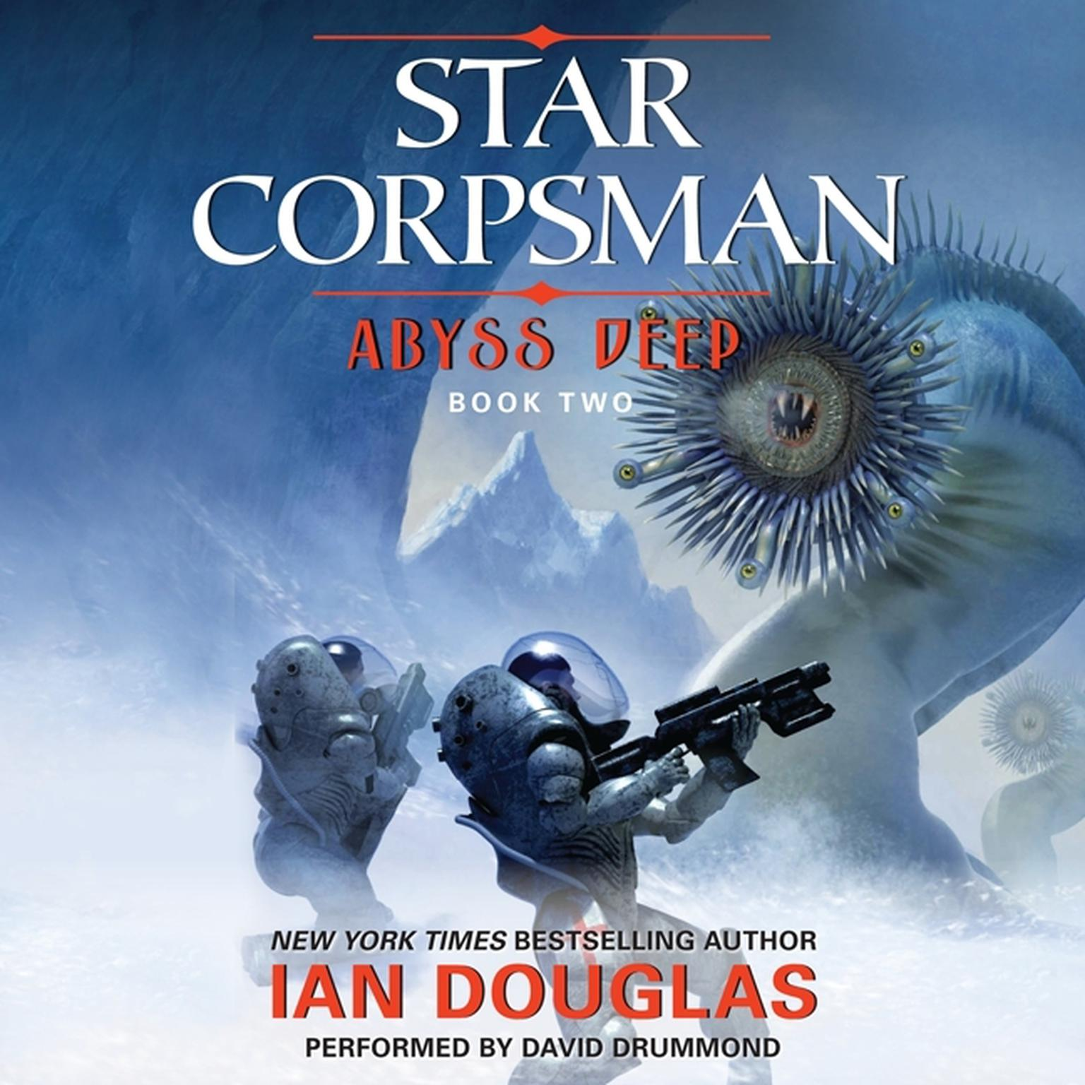 Printable Abyss Deep: Star Corpsman: Book Two Audiobook Cover Art