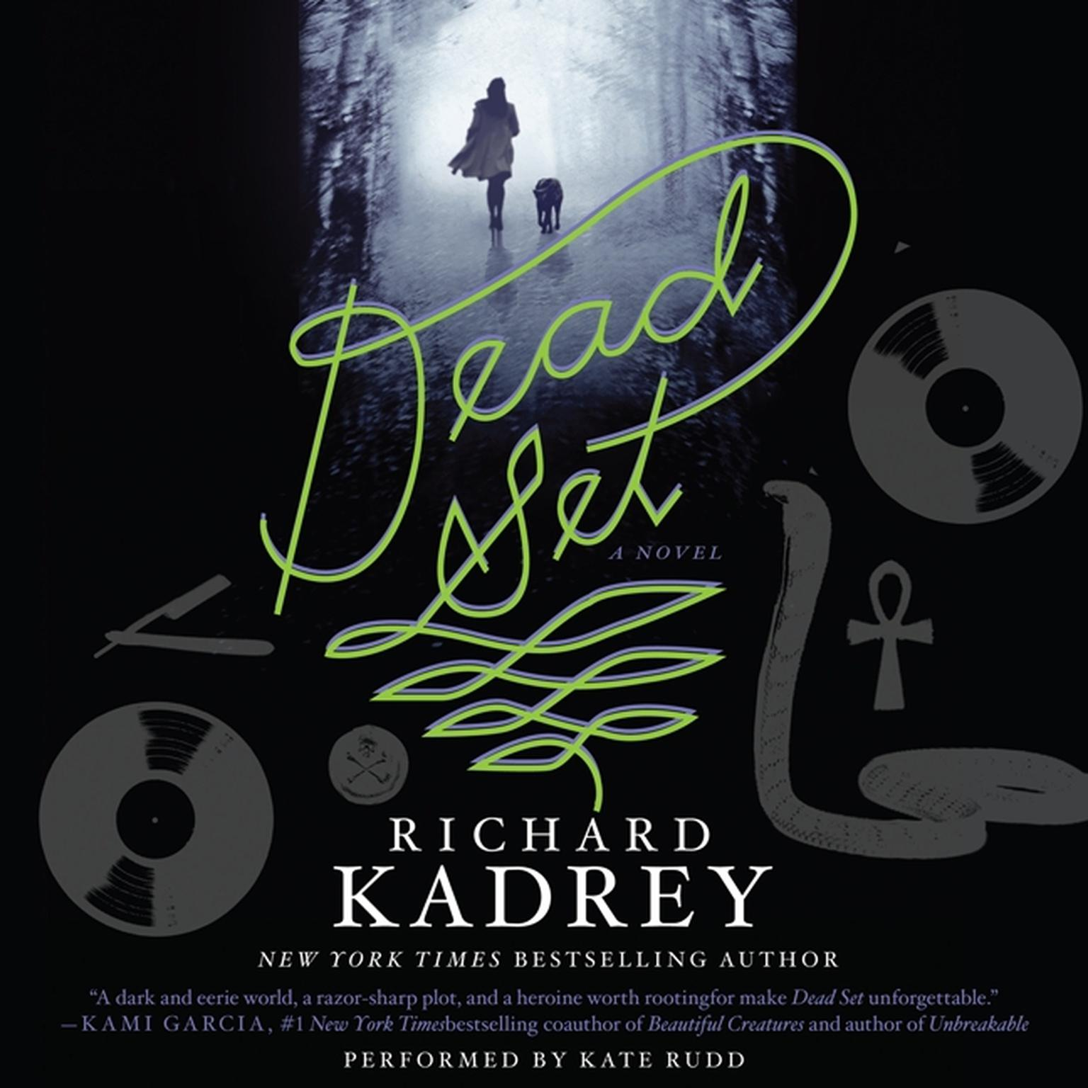 Printable Dead Set: A Novel Audiobook Cover Art