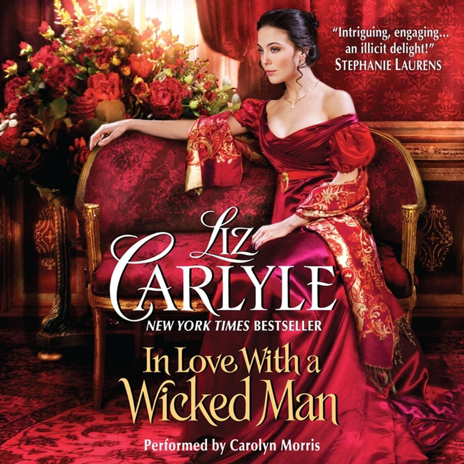Printable In Love With a Wicked Man Audiobook Cover Art