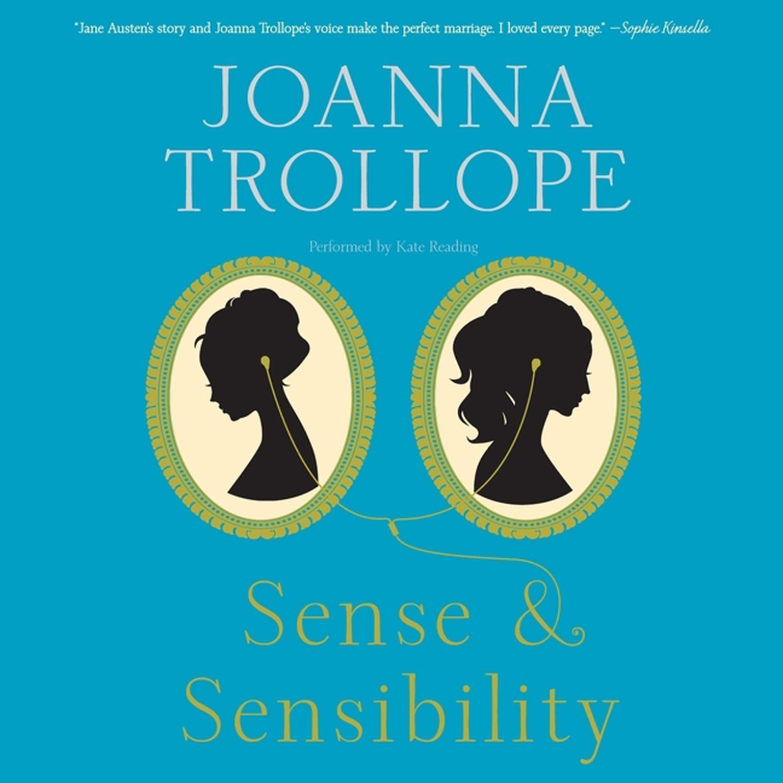 Printable Sense & Sensibility Audiobook Cover Art
