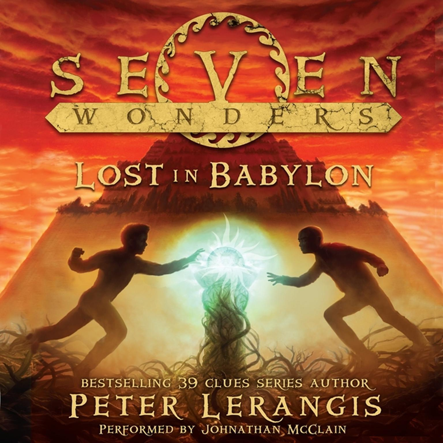 Printable Lost in Babylon Audiobook Cover Art