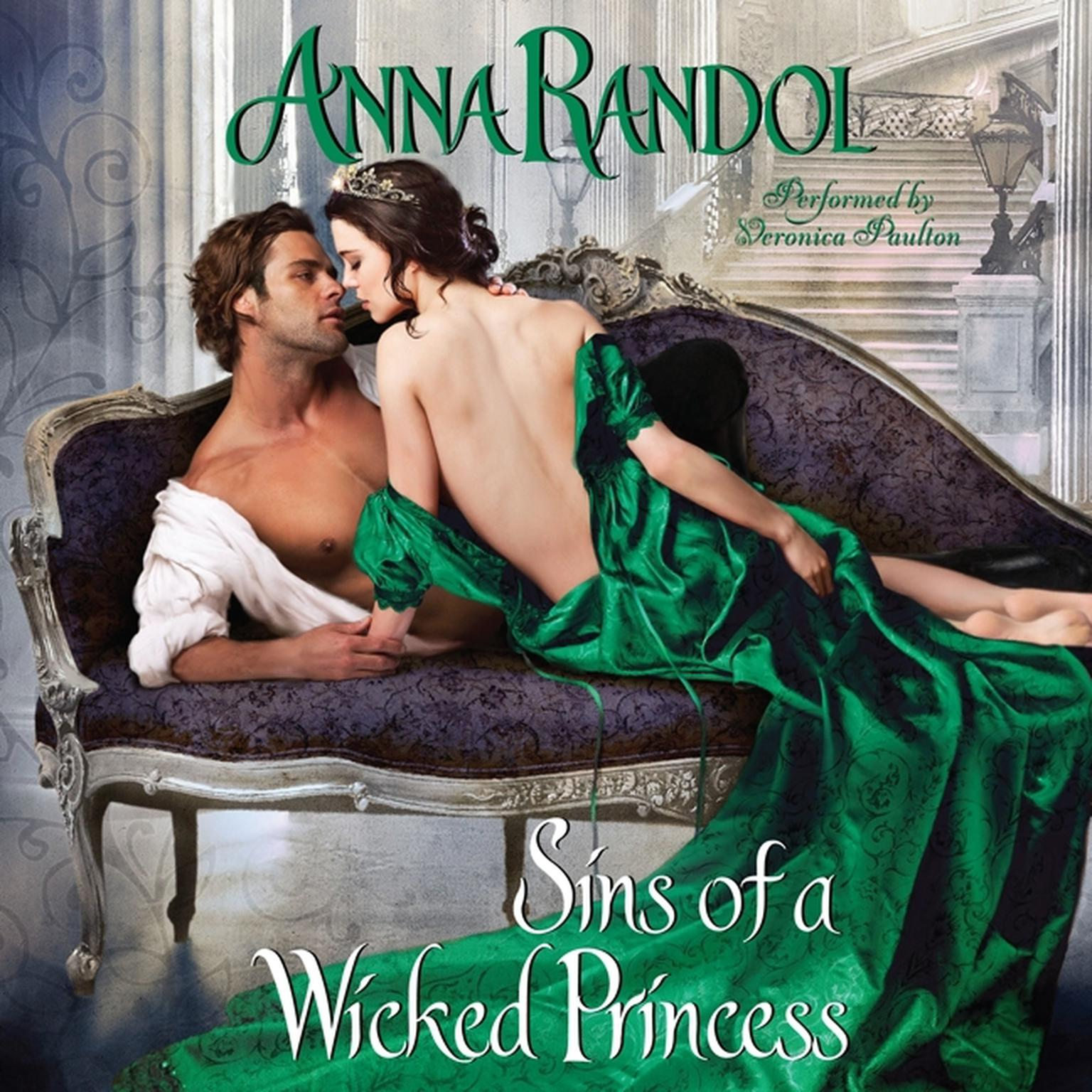 Printable Sins of a Wicked Princess Audiobook Cover Art
