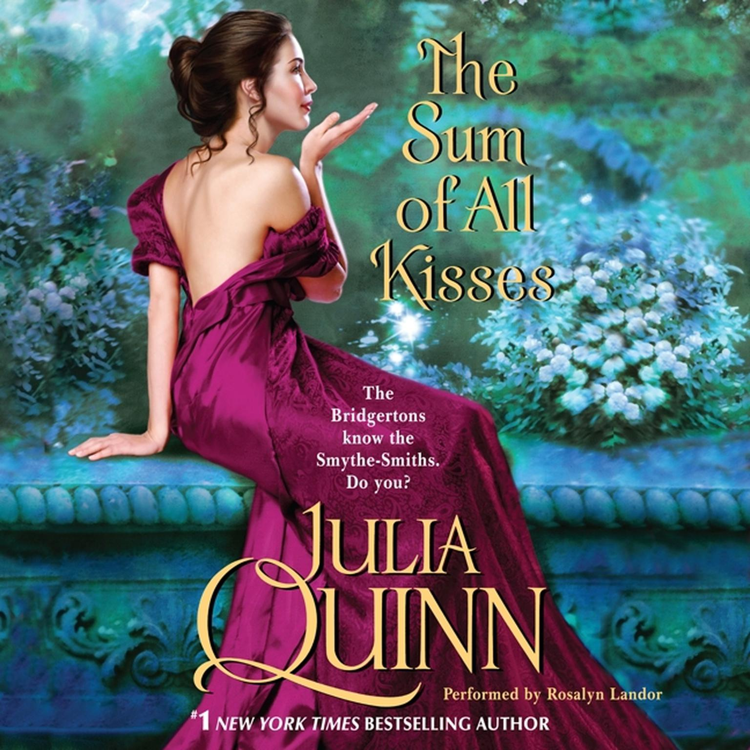 Printable The Sum of All Kisses Audiobook Cover Art
