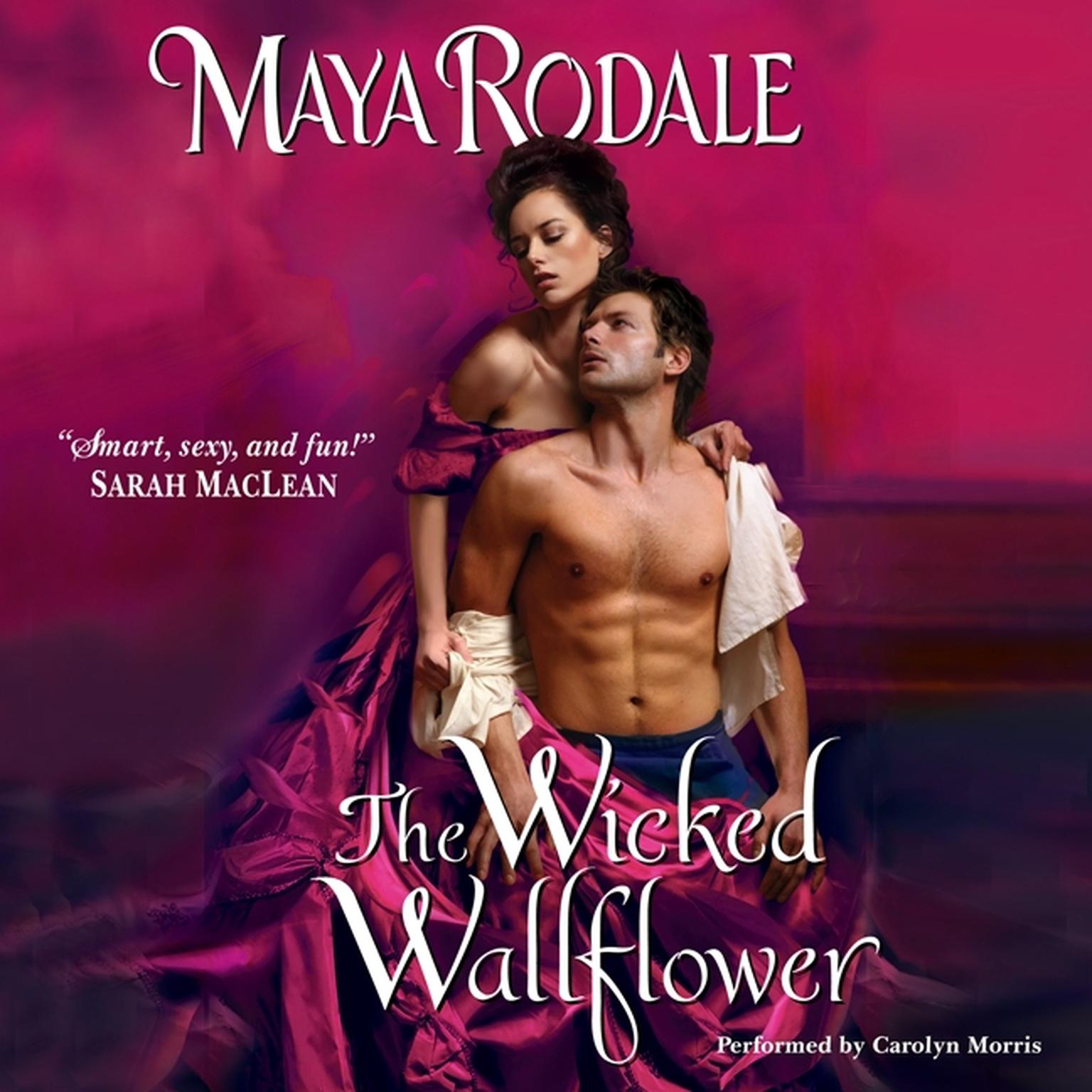 Printable The Wicked Wallflower Audiobook Cover Art