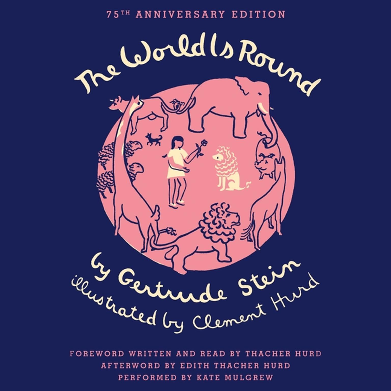 Printable The World Is Round Audiobook Cover Art