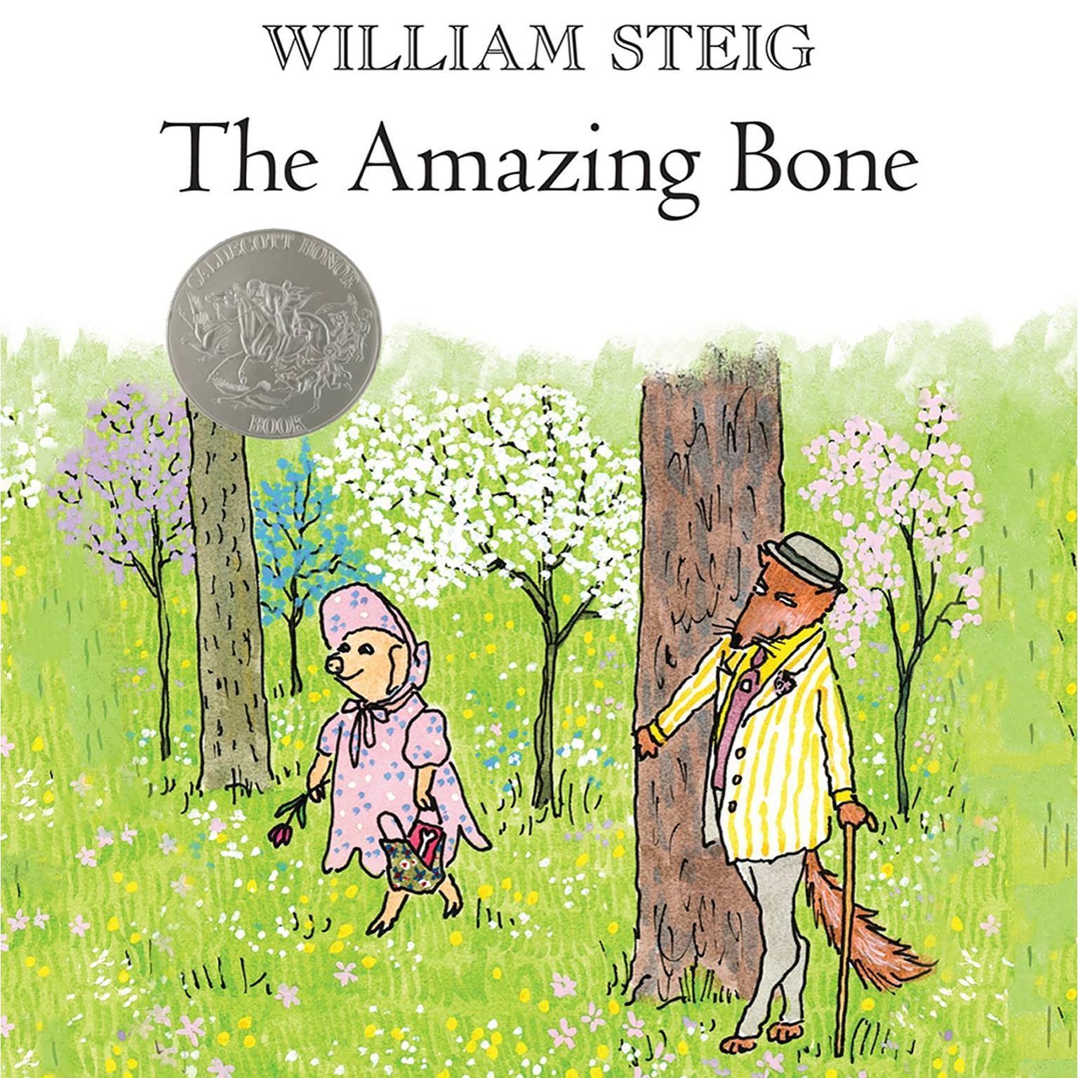 Printable The Amazing Bone Audiobook Cover Art