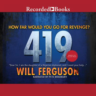 419 Audiobook, by Will Ferguson