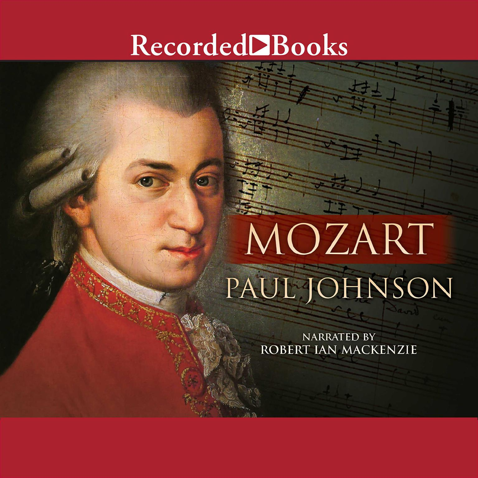 Printable Mozart: A Life Audiobook Cover Art