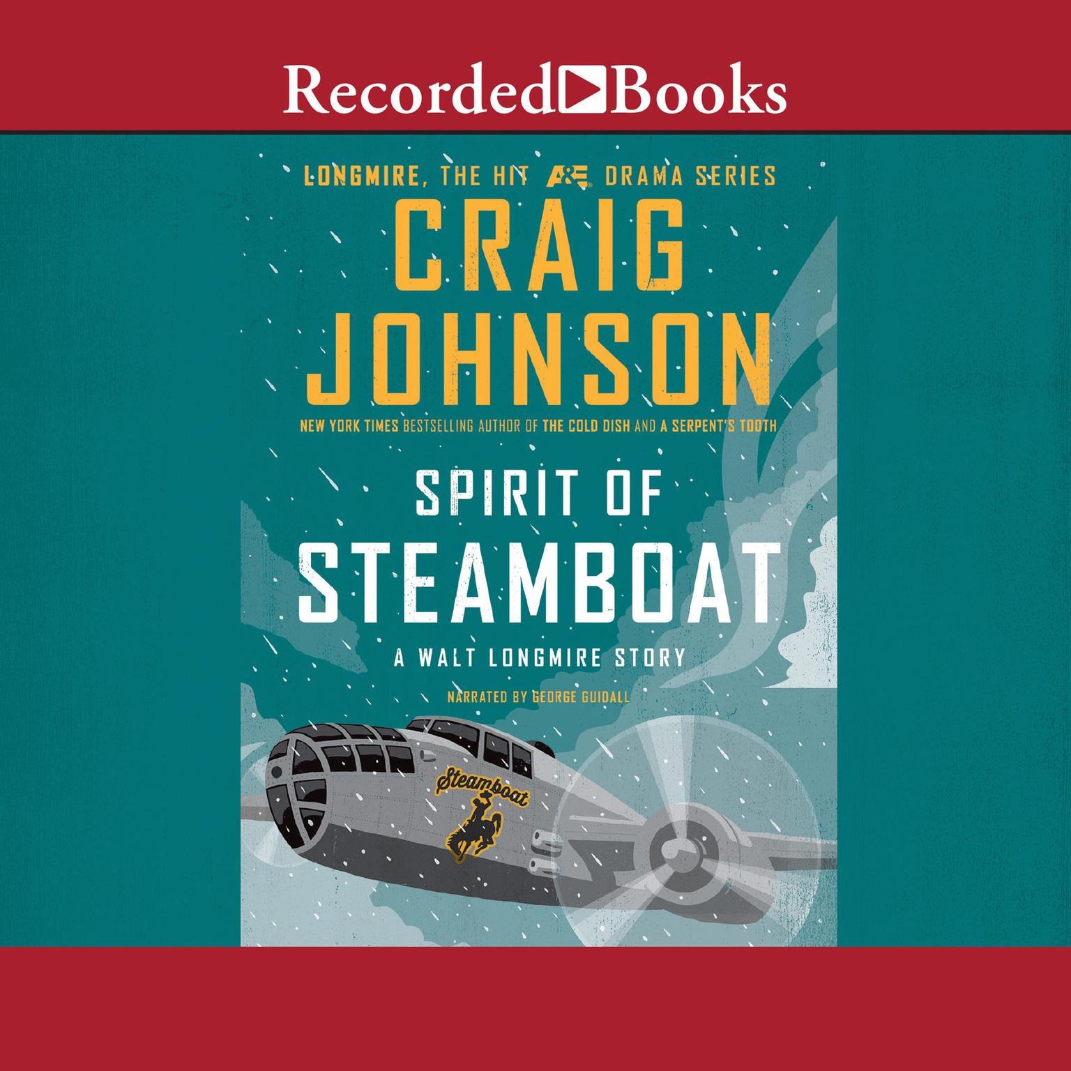 Printable Spirit of Steamboat Audiobook Cover Art