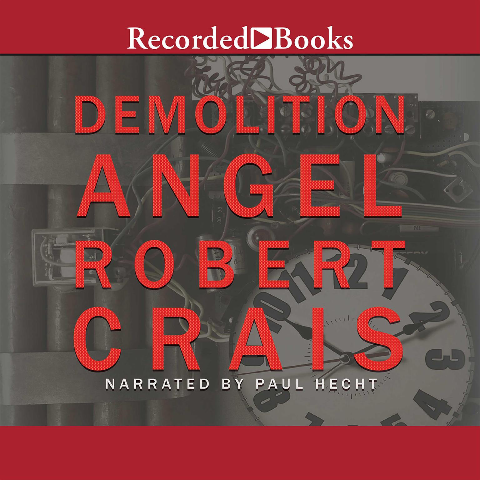 Printable Demolition Angel Audiobook Cover Art