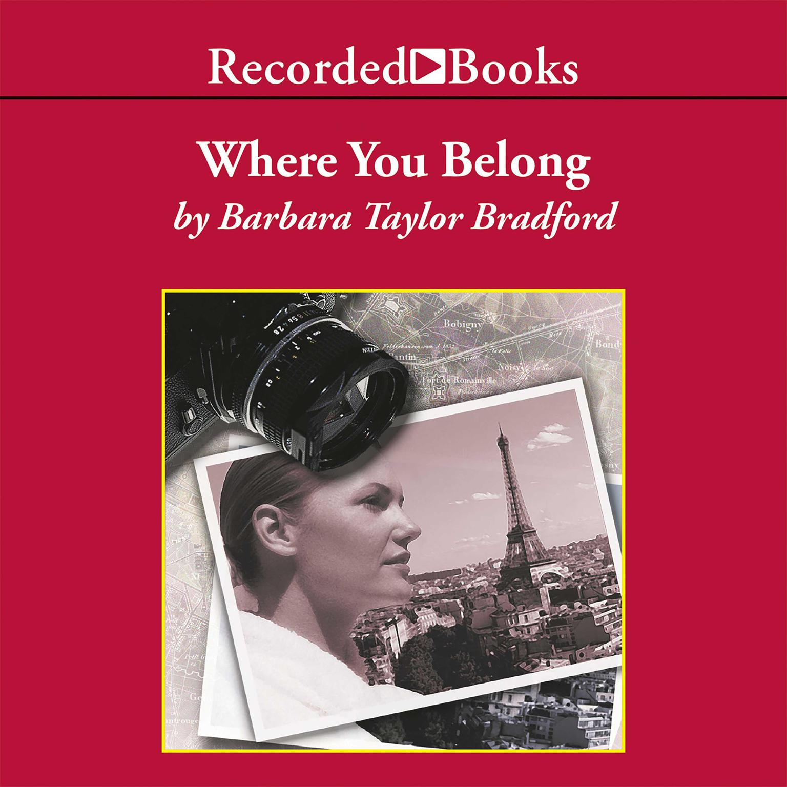 Printable Where You Belong Audiobook Cover Art