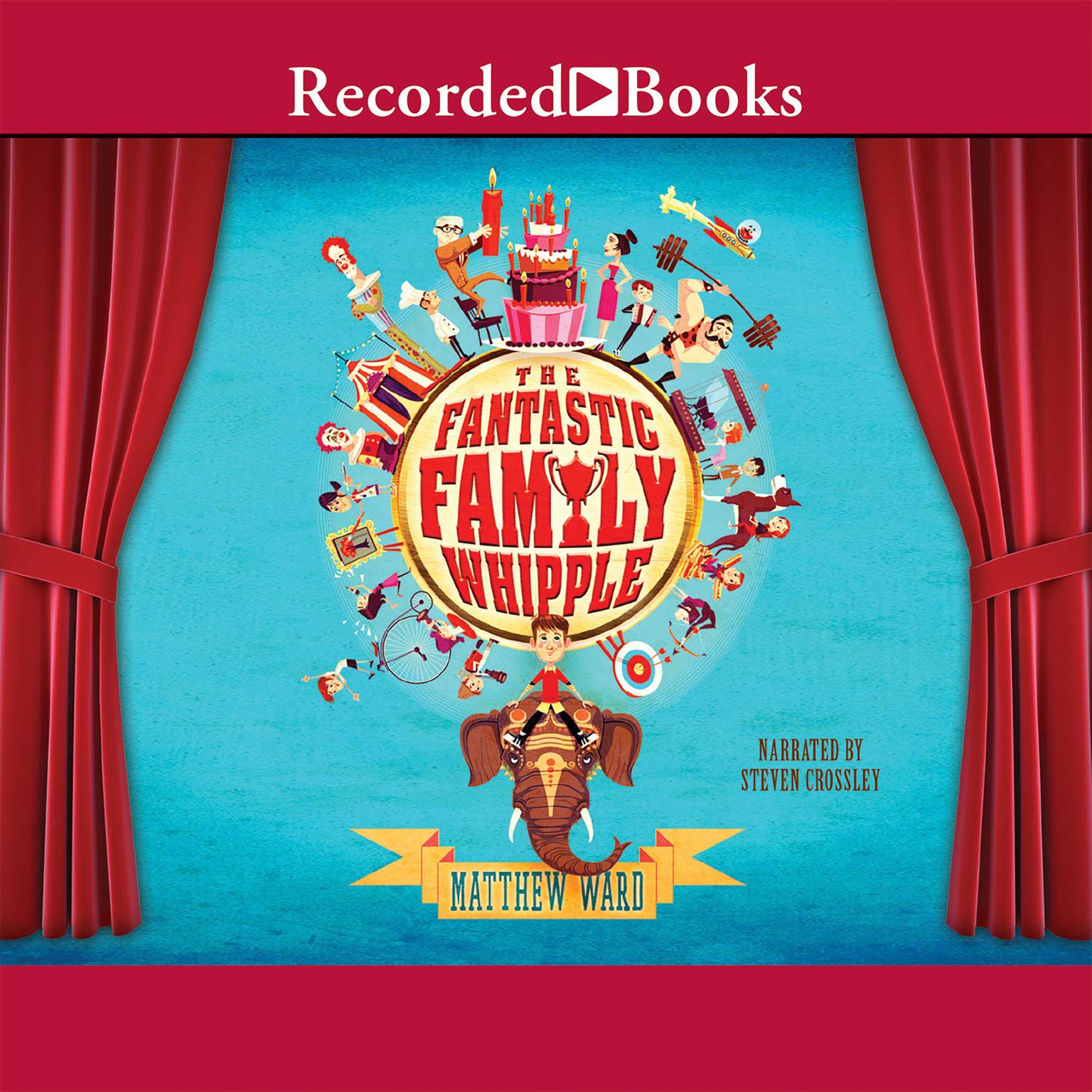 Printable The Fantastic Family Whipple Audiobook Cover Art