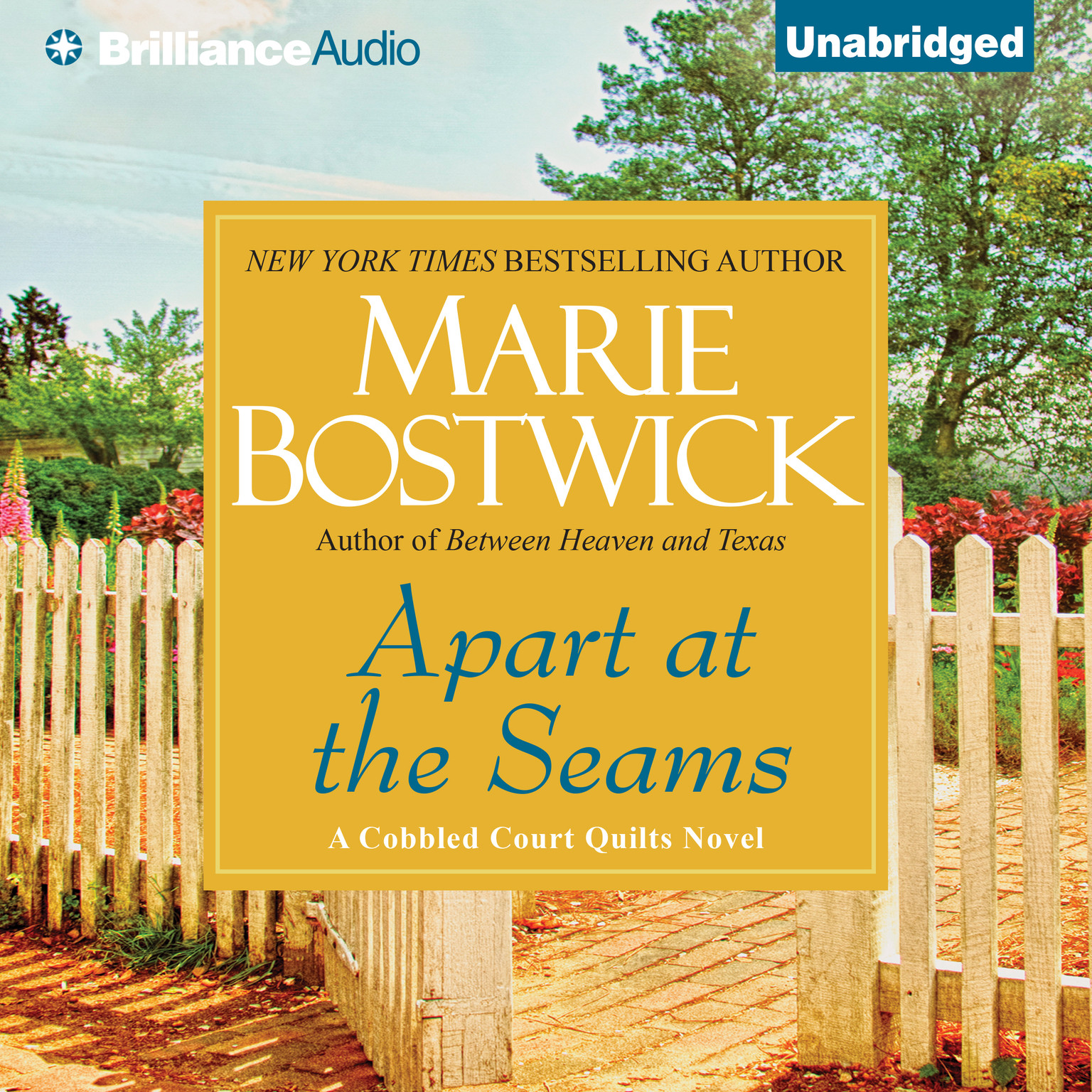 Printable Apart at the Seams Audiobook Cover Art
