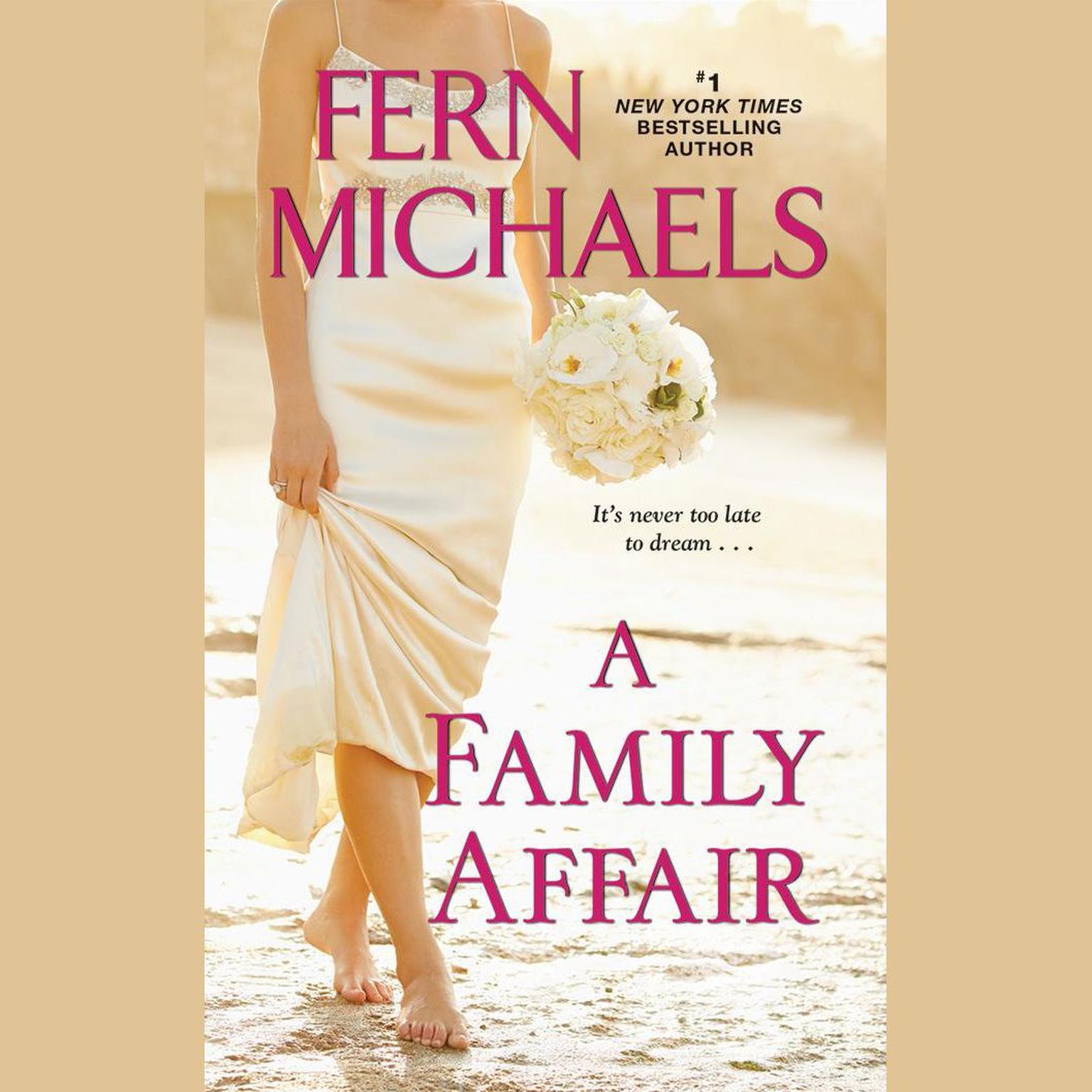 Printable A Family Affair Audiobook Cover Art