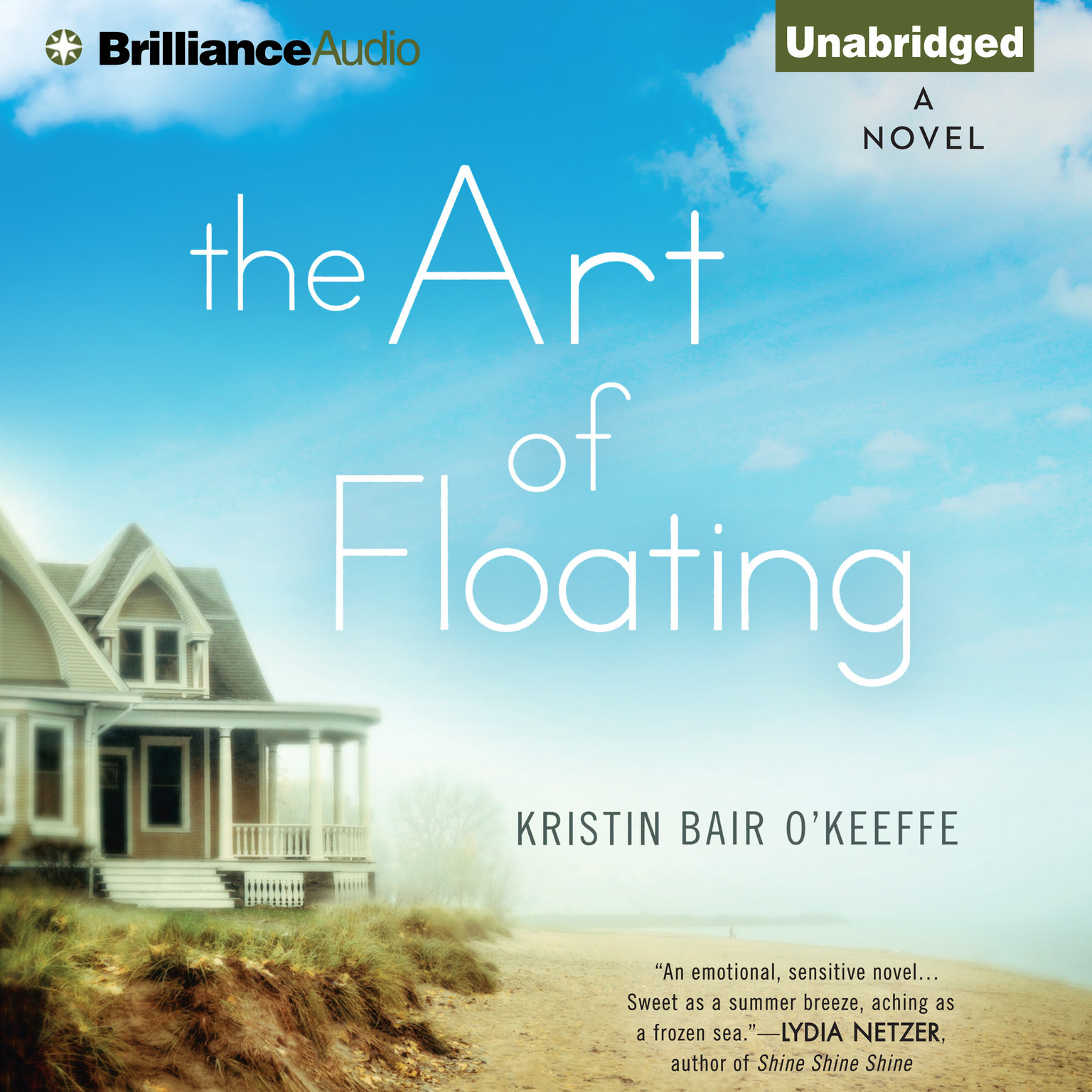 Printable The Art of Floating Audiobook Cover Art