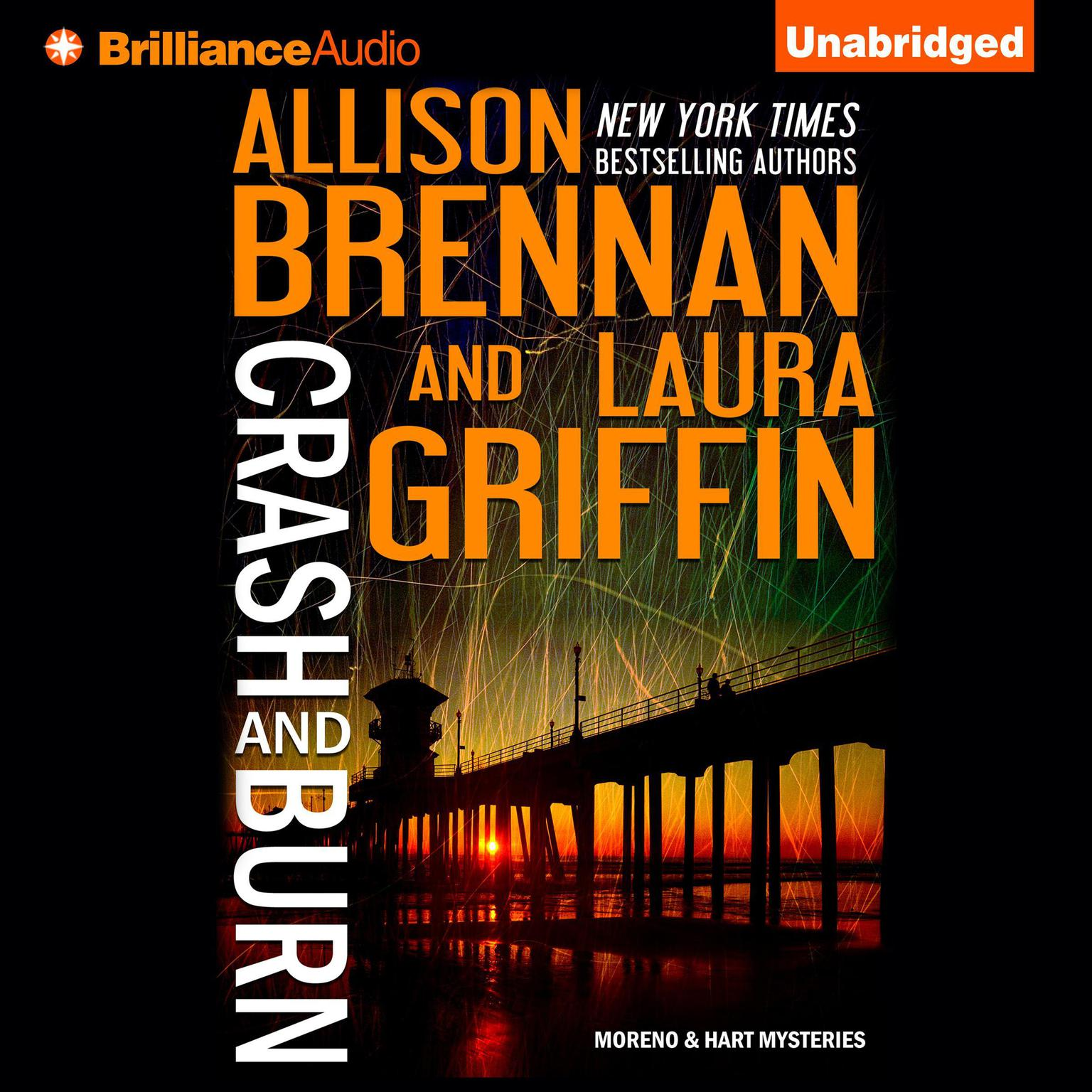 Printable Crash and Burn Audiobook Cover Art