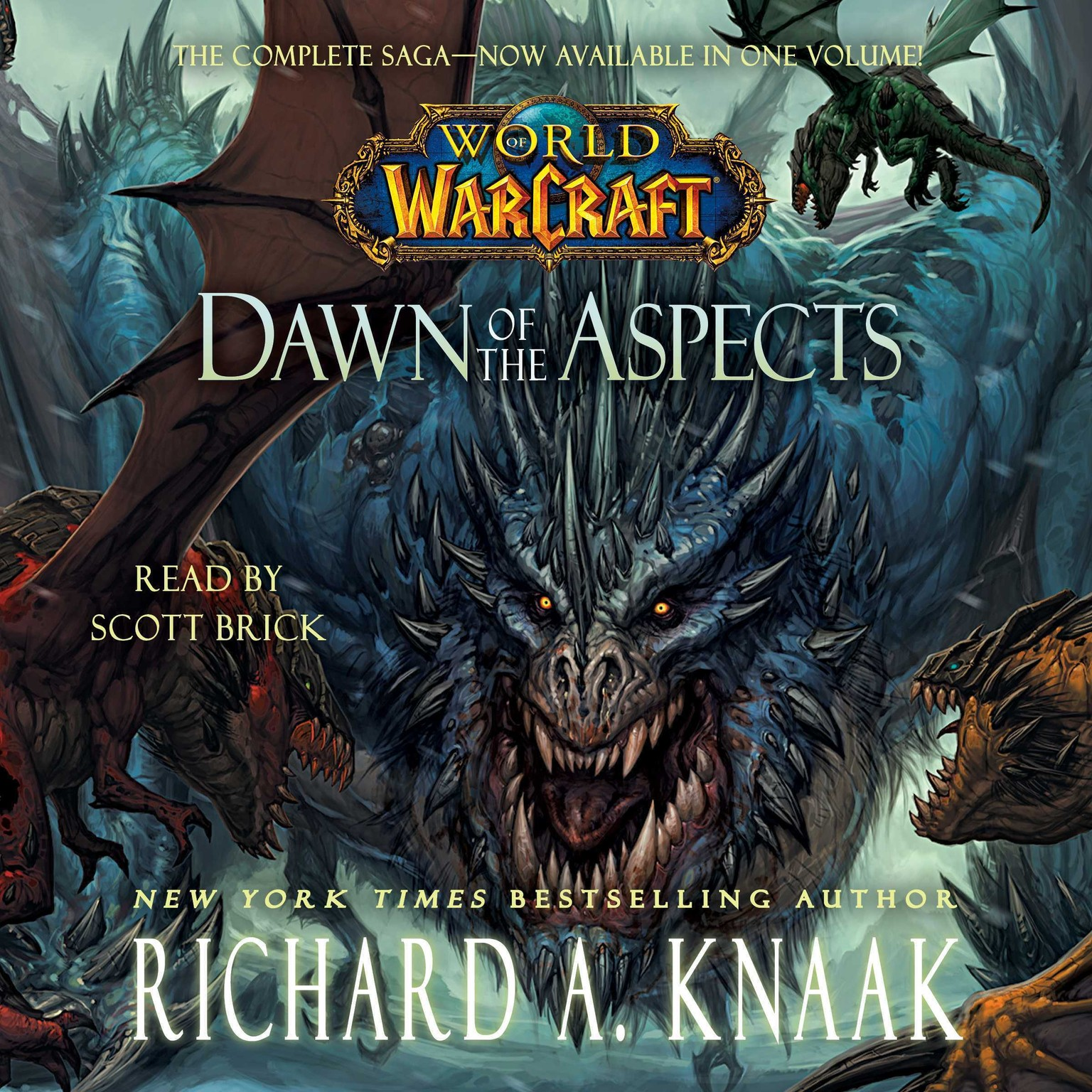 Printable Dawn of the Aspects Audiobook Cover Art