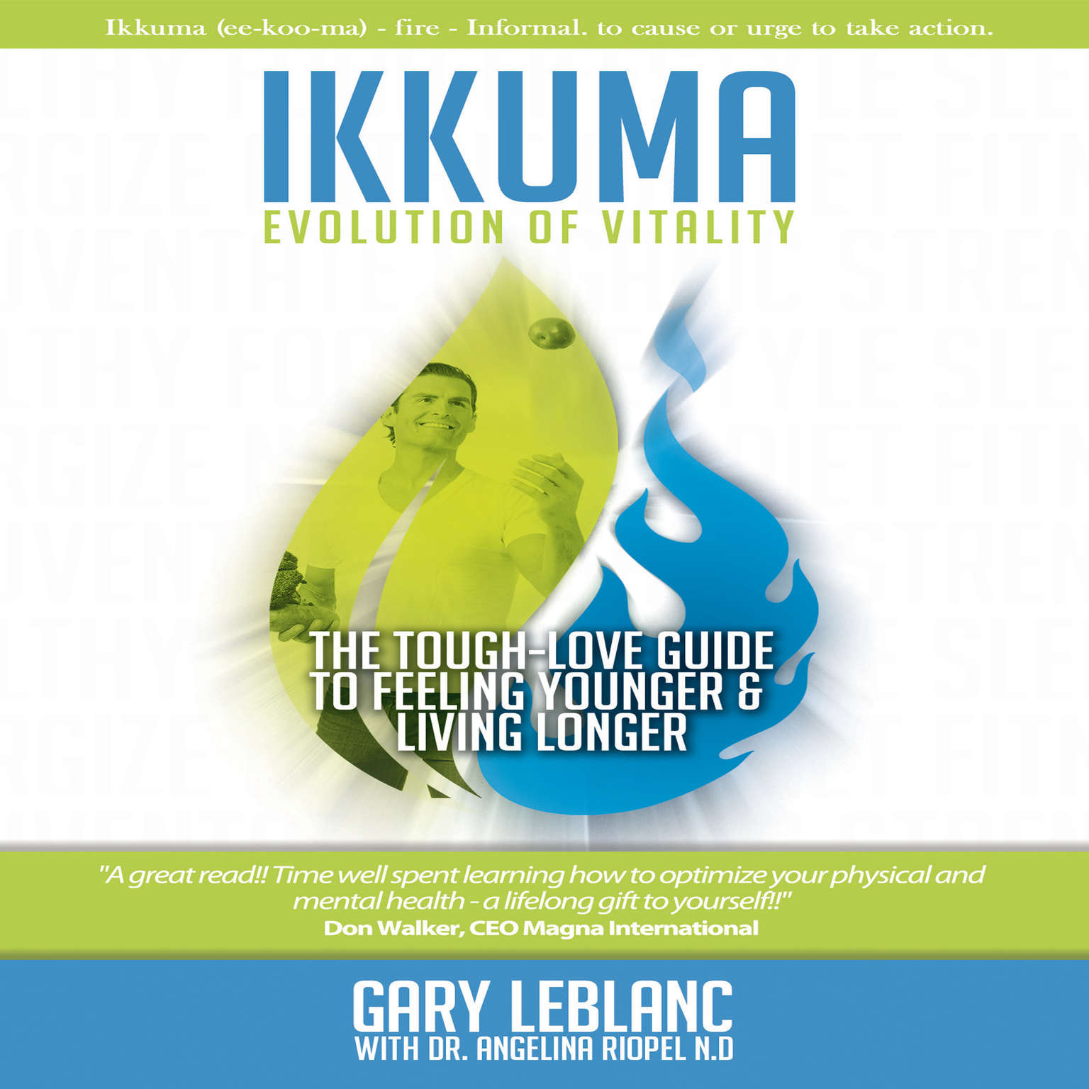 Printable Ikkuma: The Evolution of Vitality Audiobook Cover Art