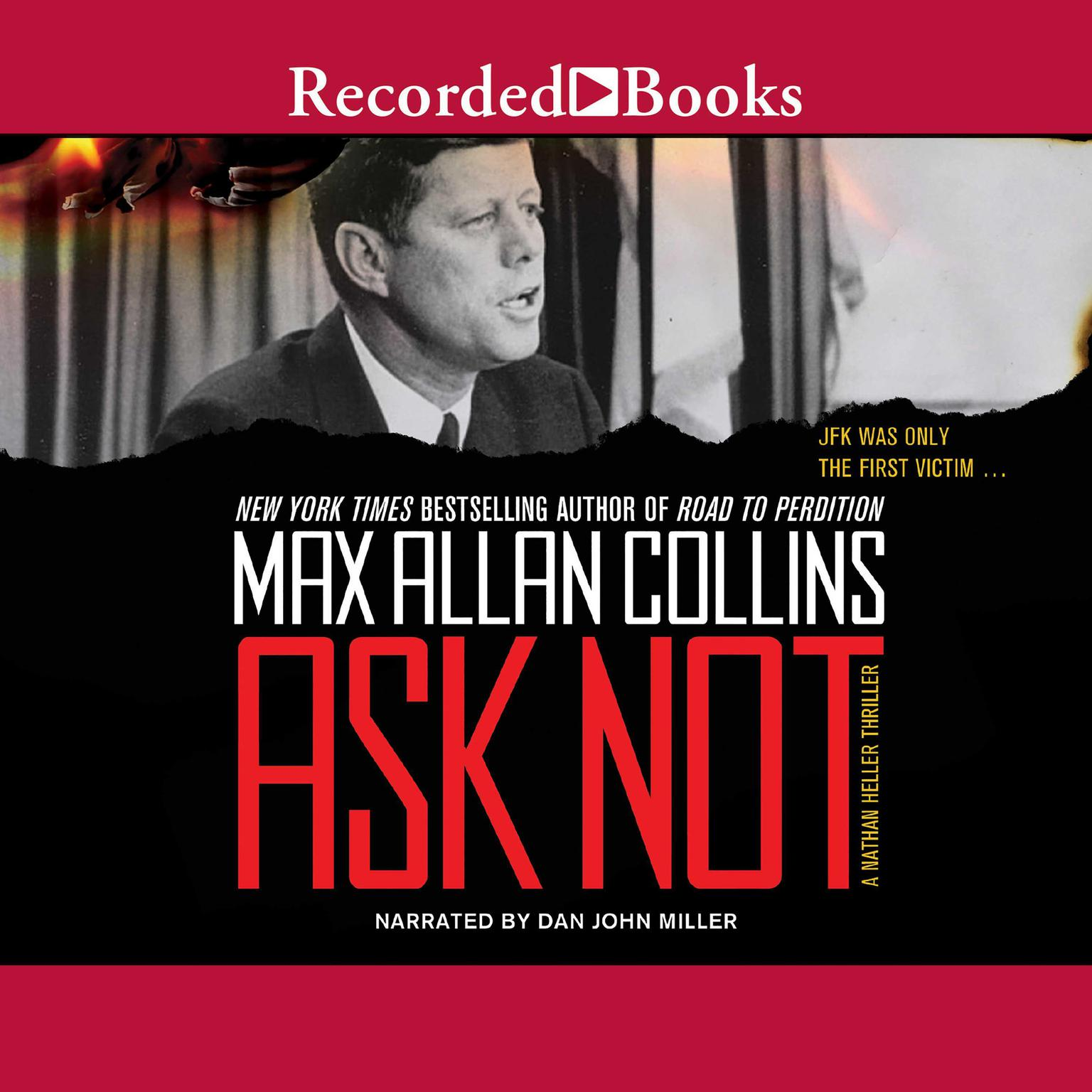 Printable Ask Not Audiobook Cover Art