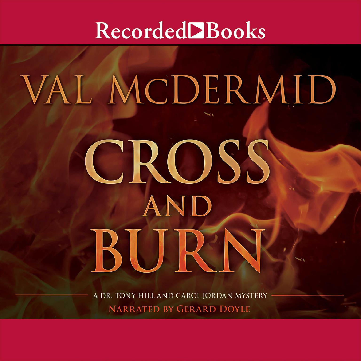 Printable Cross and Burn Audiobook Cover Art