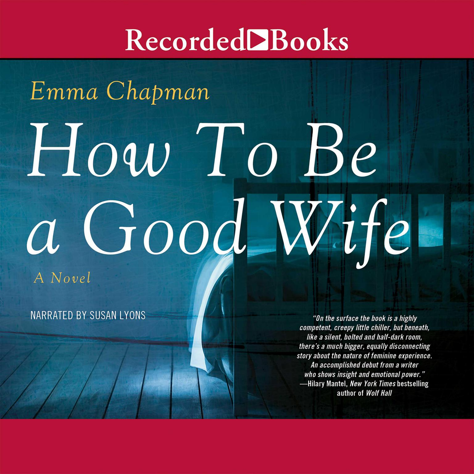 Printable How to Be a Good Wife Audiobook Cover Art