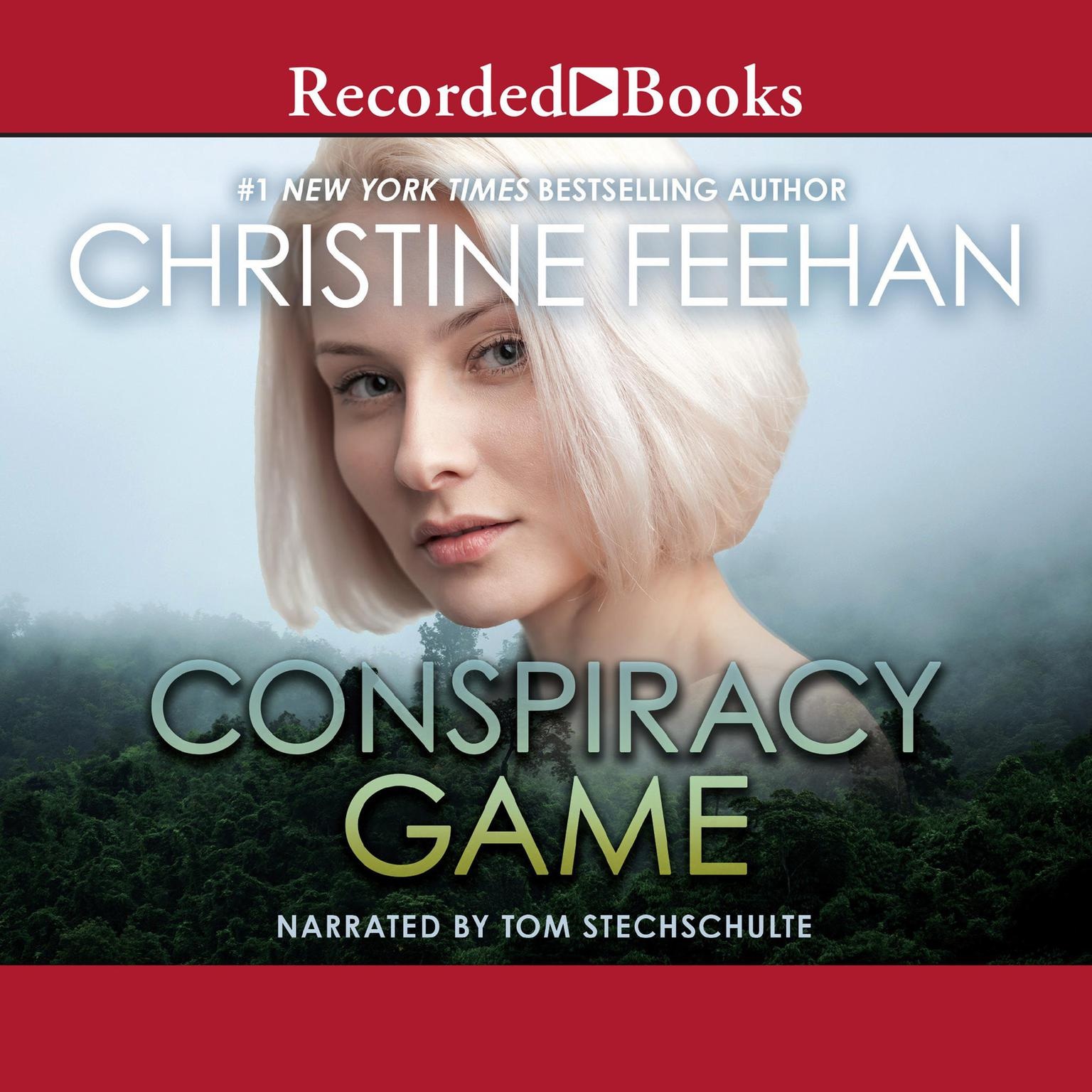 Printable Conspiracy Game Audiobook Cover Art
