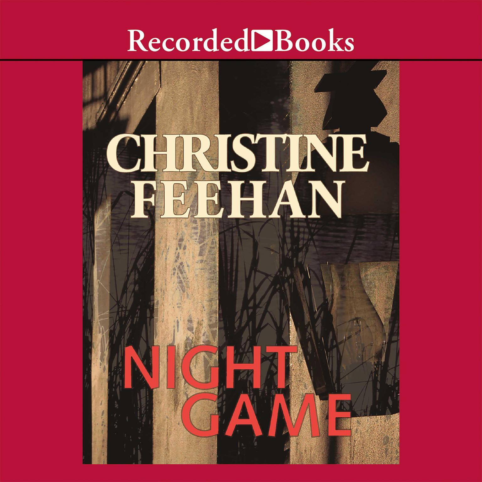 Printable Night Game Audiobook Cover Art